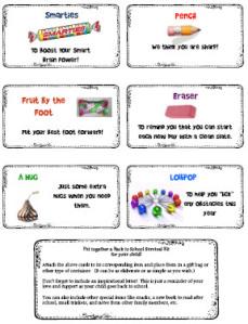 Simplicity image inside teacher survival kit printable
