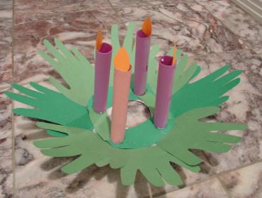 Christmas craft advent wreaths happy home fairy
