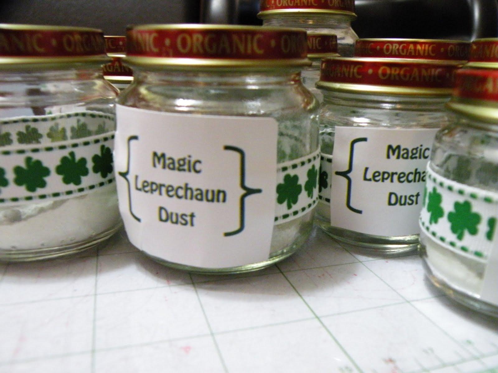 Magic Leprechaun Dust Happy Home Fairy