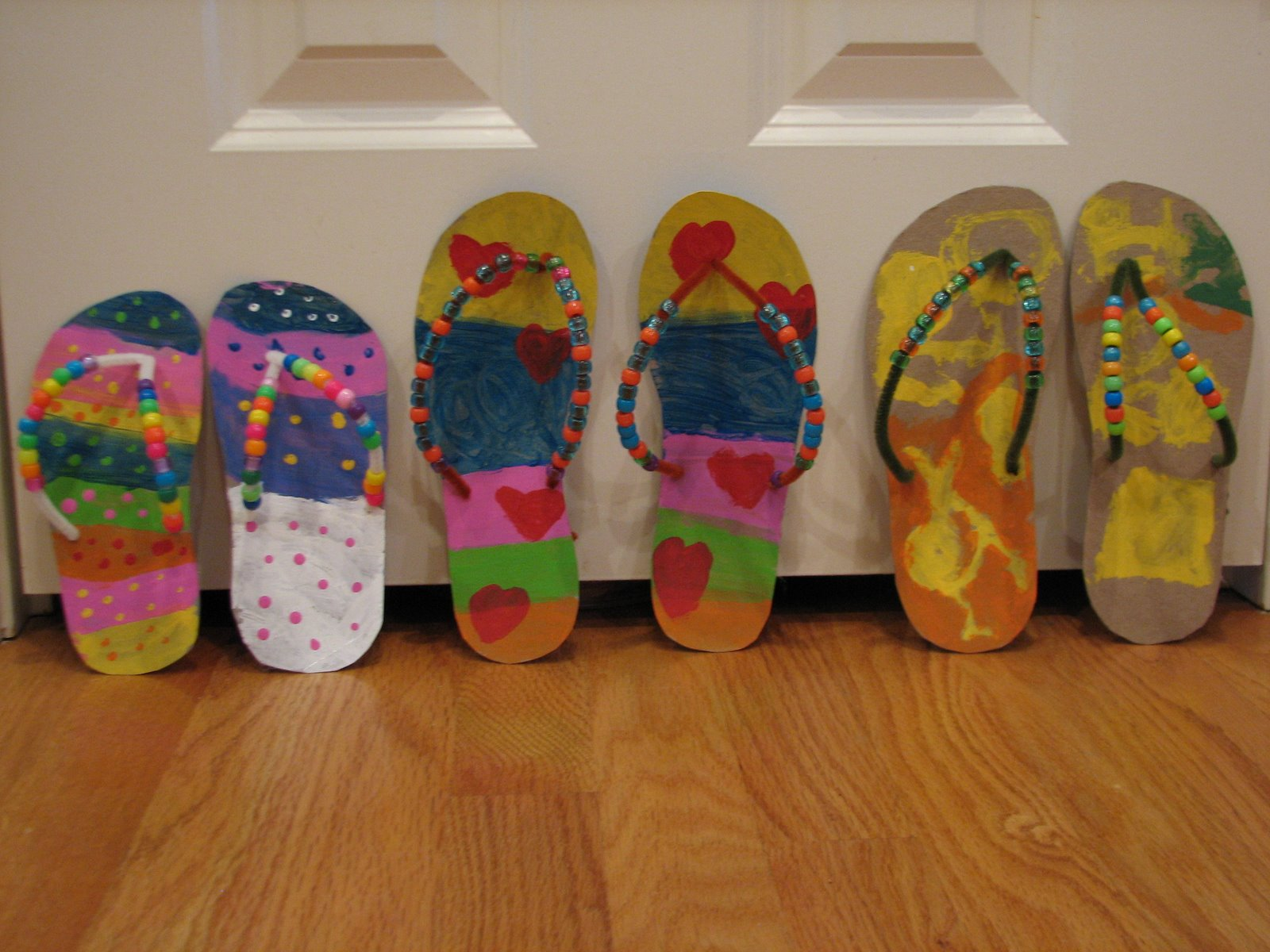 Summer fun to flip over happy home fairy for Flip flops for crafts