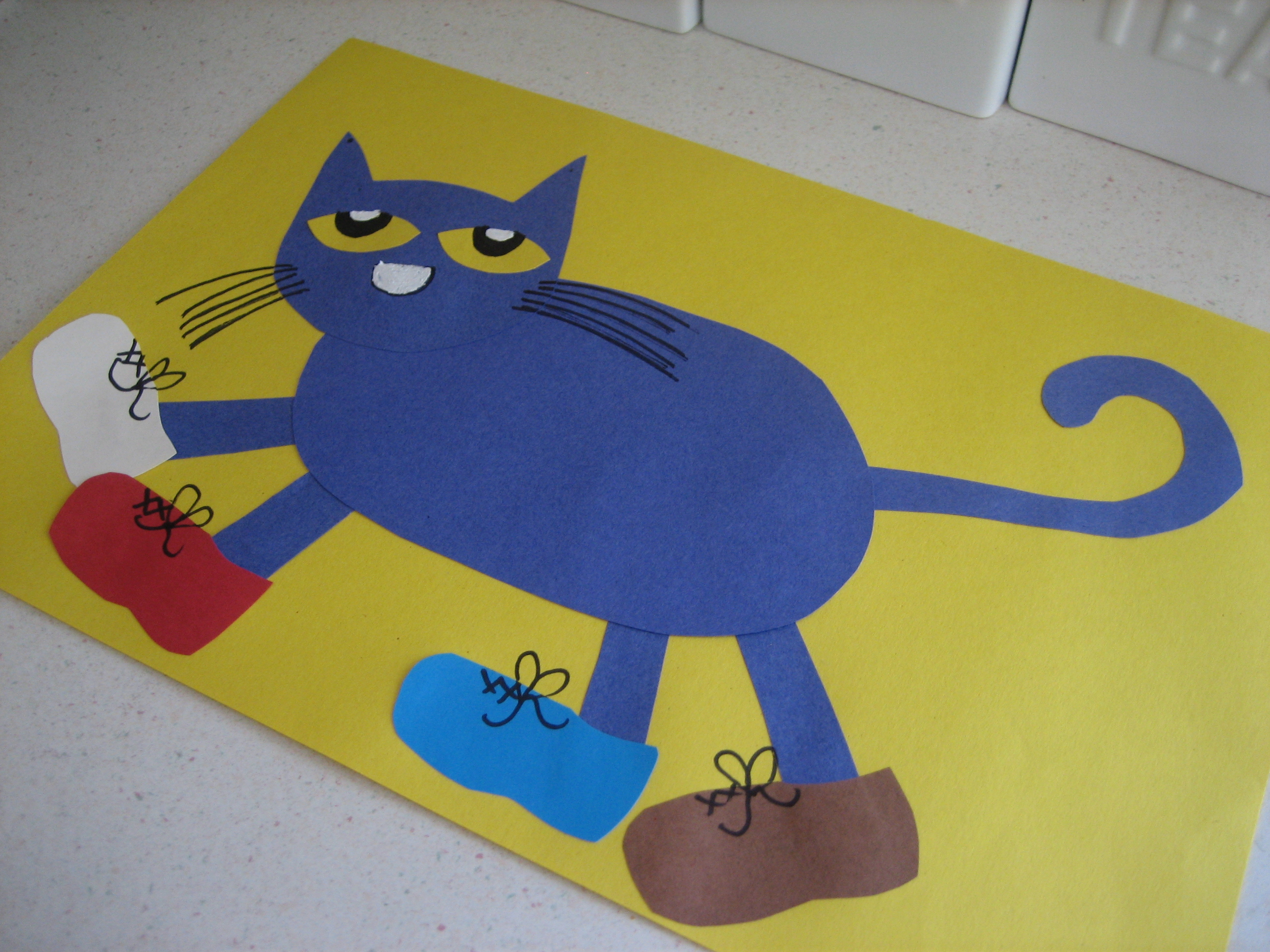 Pete The Cat Craft Pinterest
