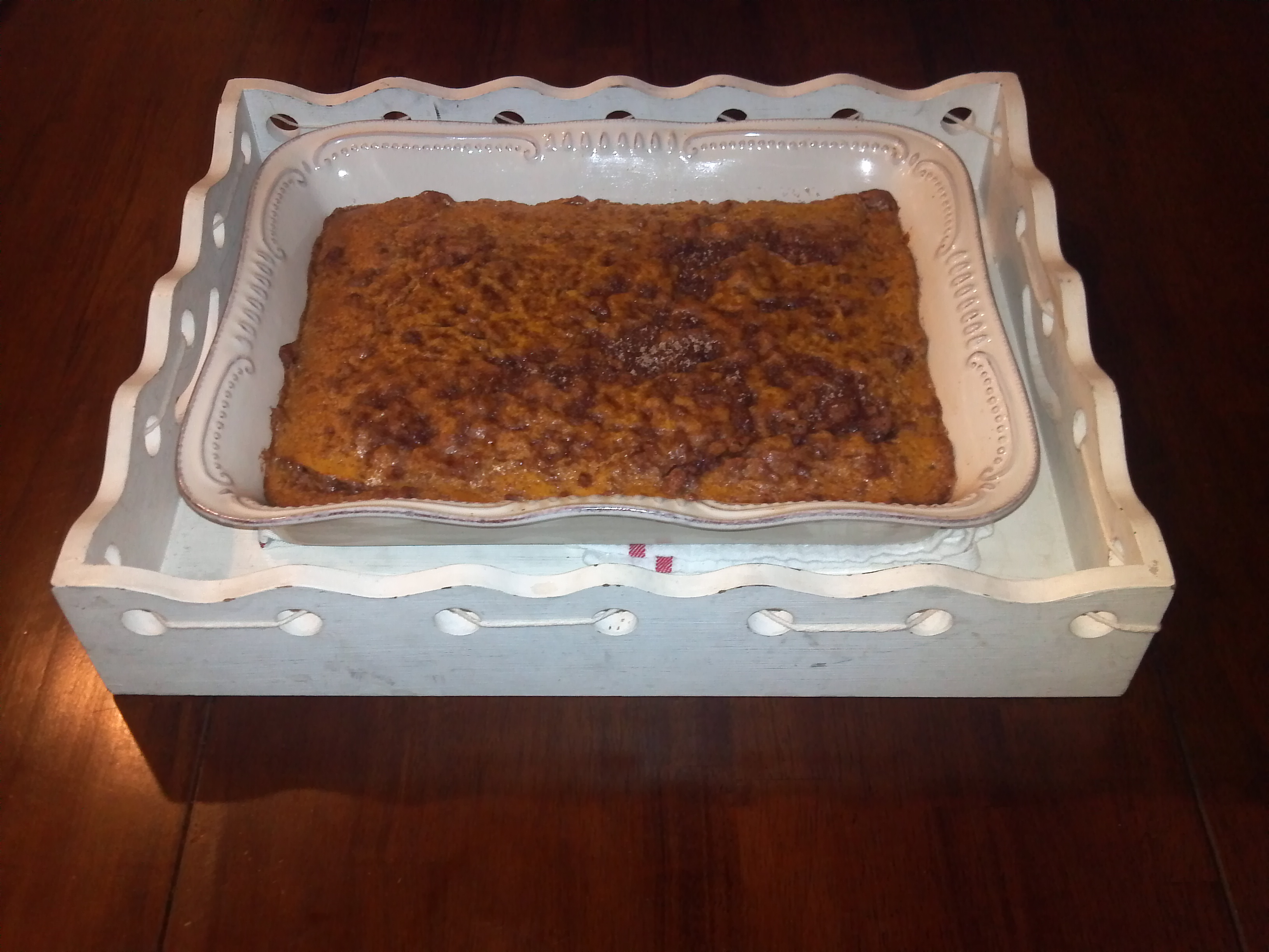 Recipe - Pumpkin Maple Coffee Cake - Happy Home Fairy