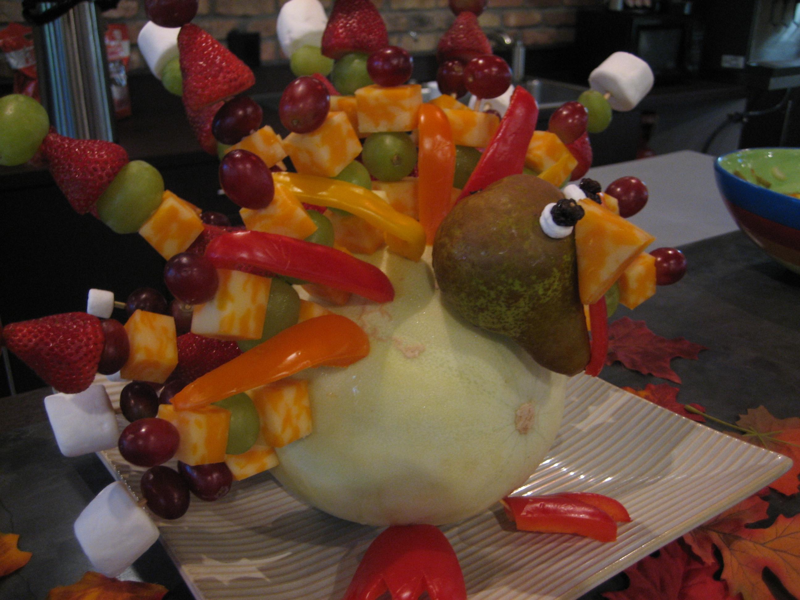 The Fruit Kabob Turkey Happy Home Fairy