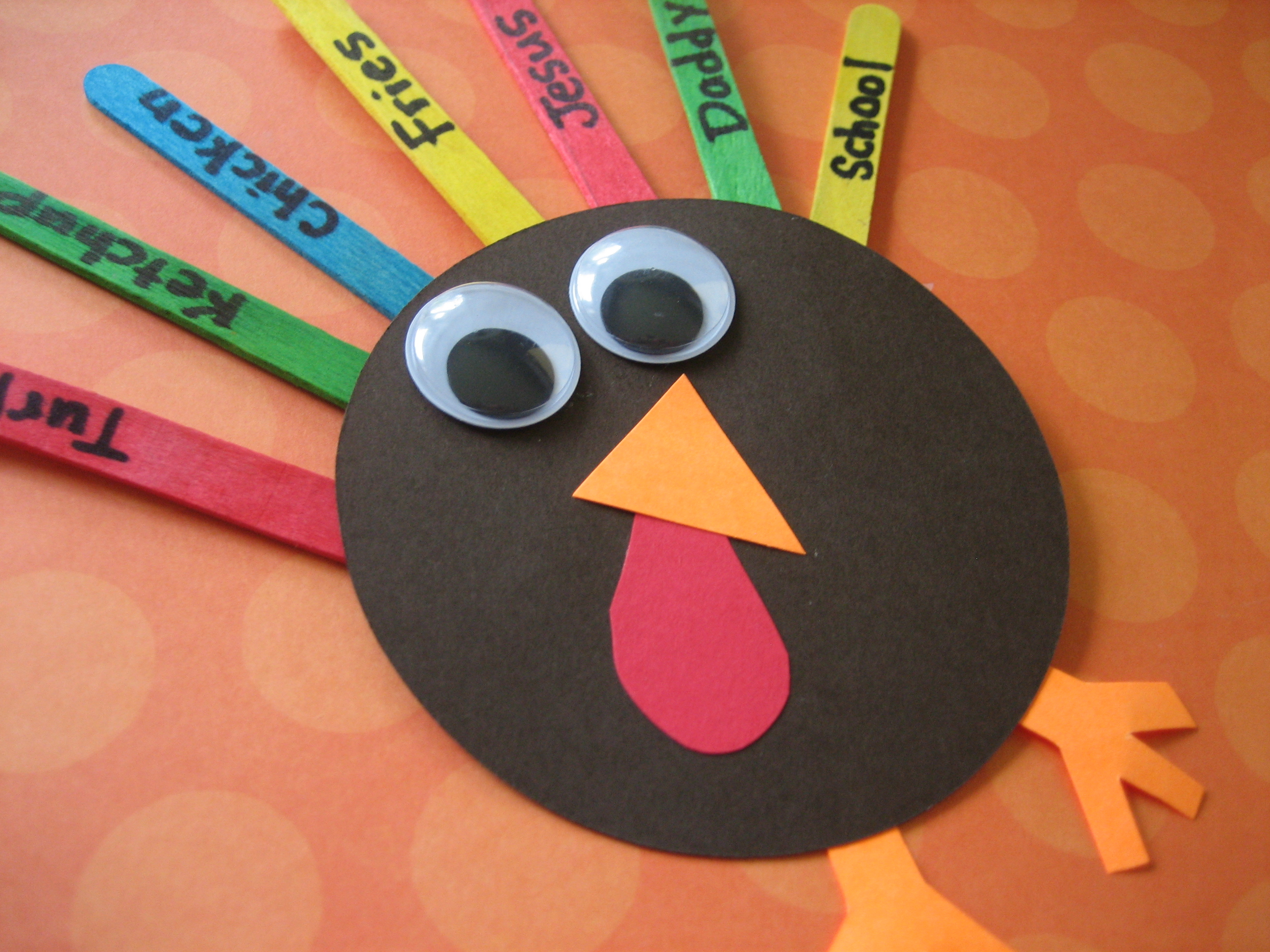 one more adorable turkey craft happy home fairy