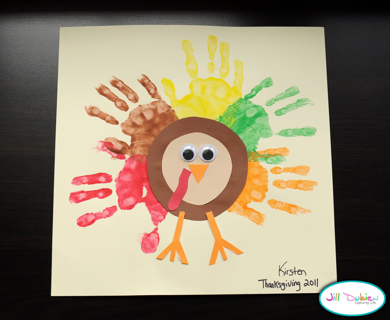 gallery for turkey preschool craft