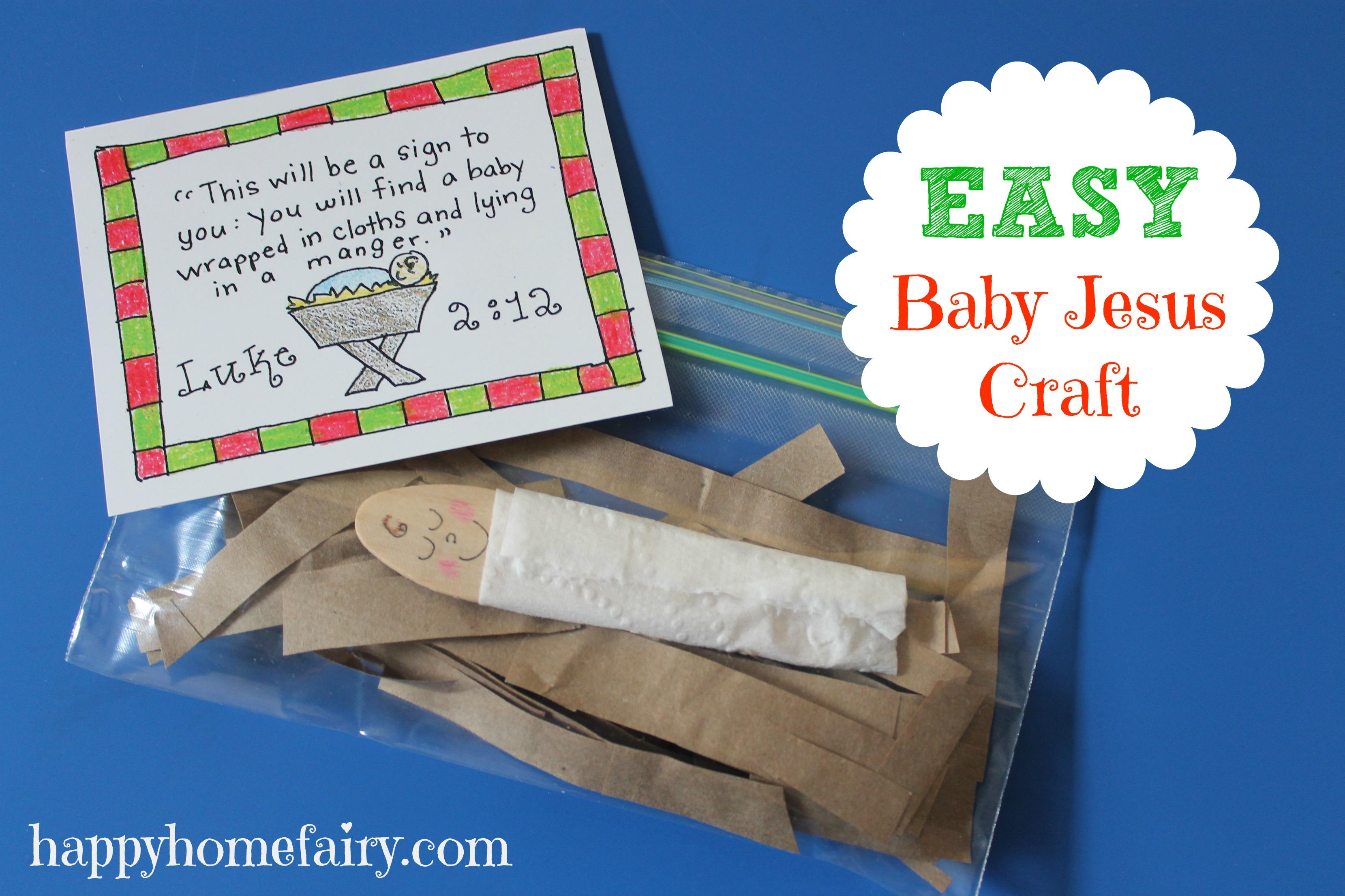 Easy baby jesus craft at happyhomefairy com jpg
