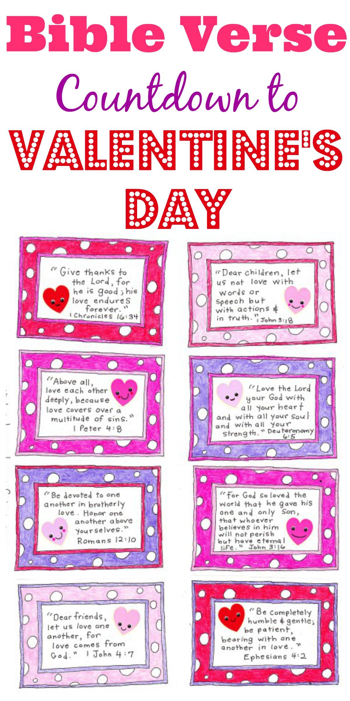 Bible Verse Valentine Cards Agcrewall