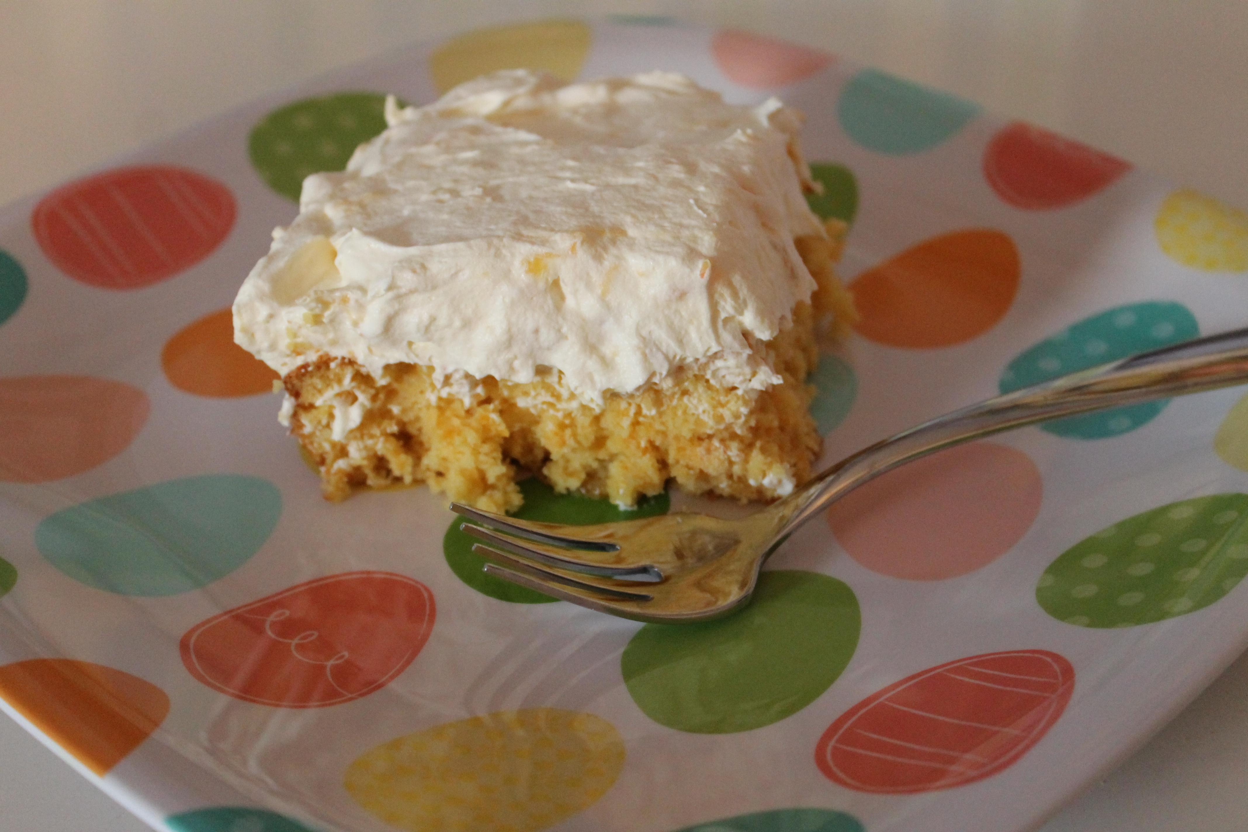Recipe Sunshine Cake Happy Home Fairy