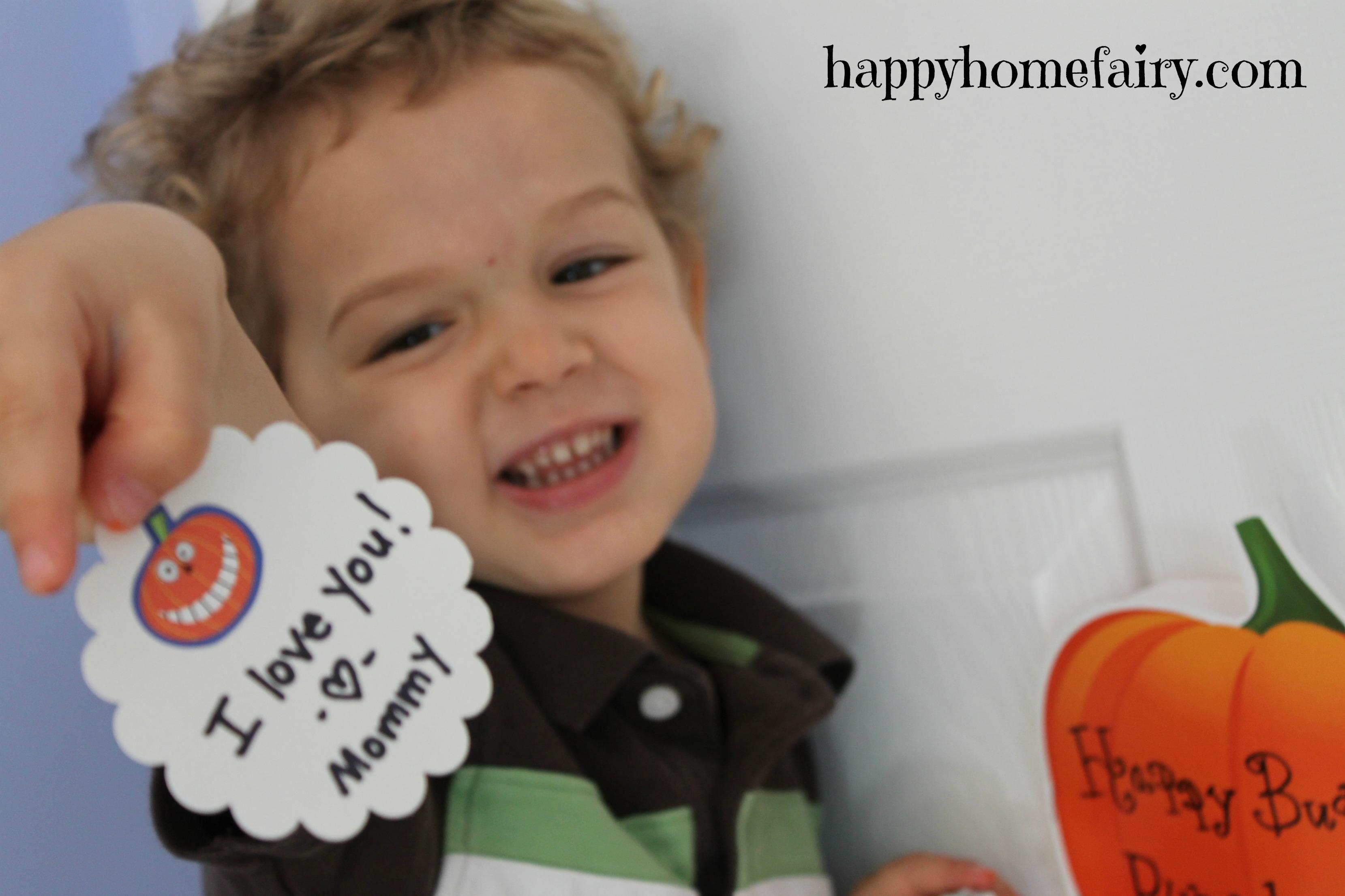 Pumpkin Pockets - FREE Printable! - Happy Home Fairy