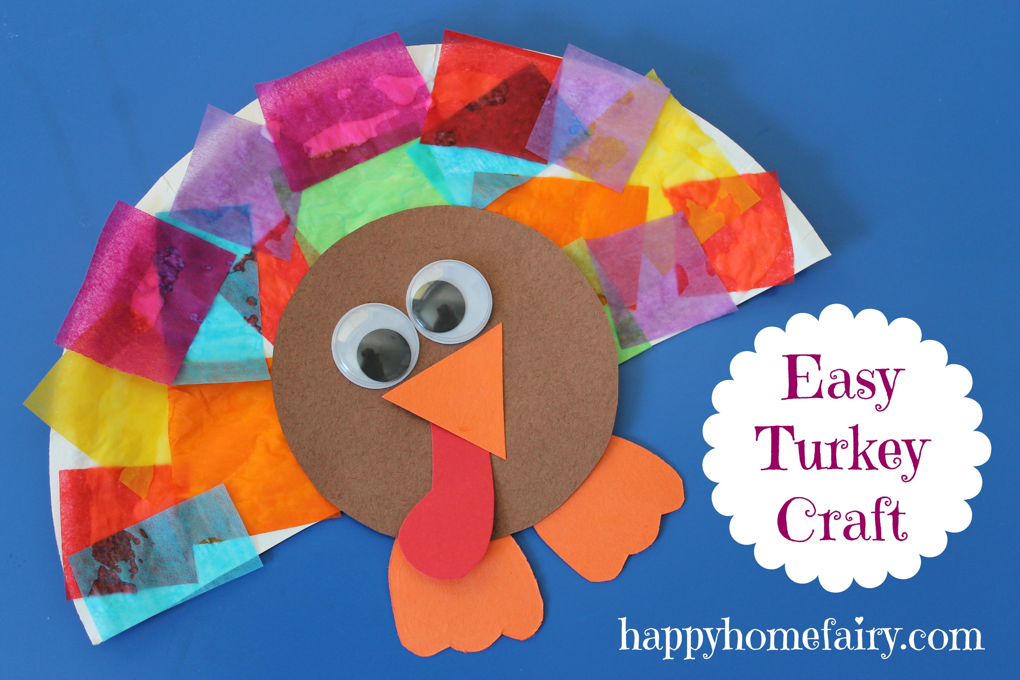 Turkey Papercraft