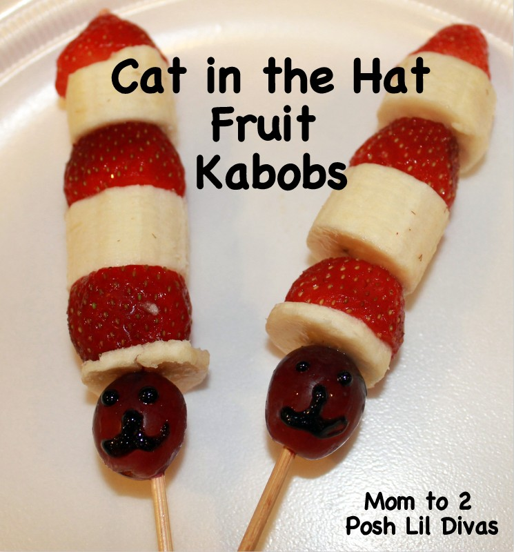 Cute Snack Ideas To Celebrate Dr. Seuss!