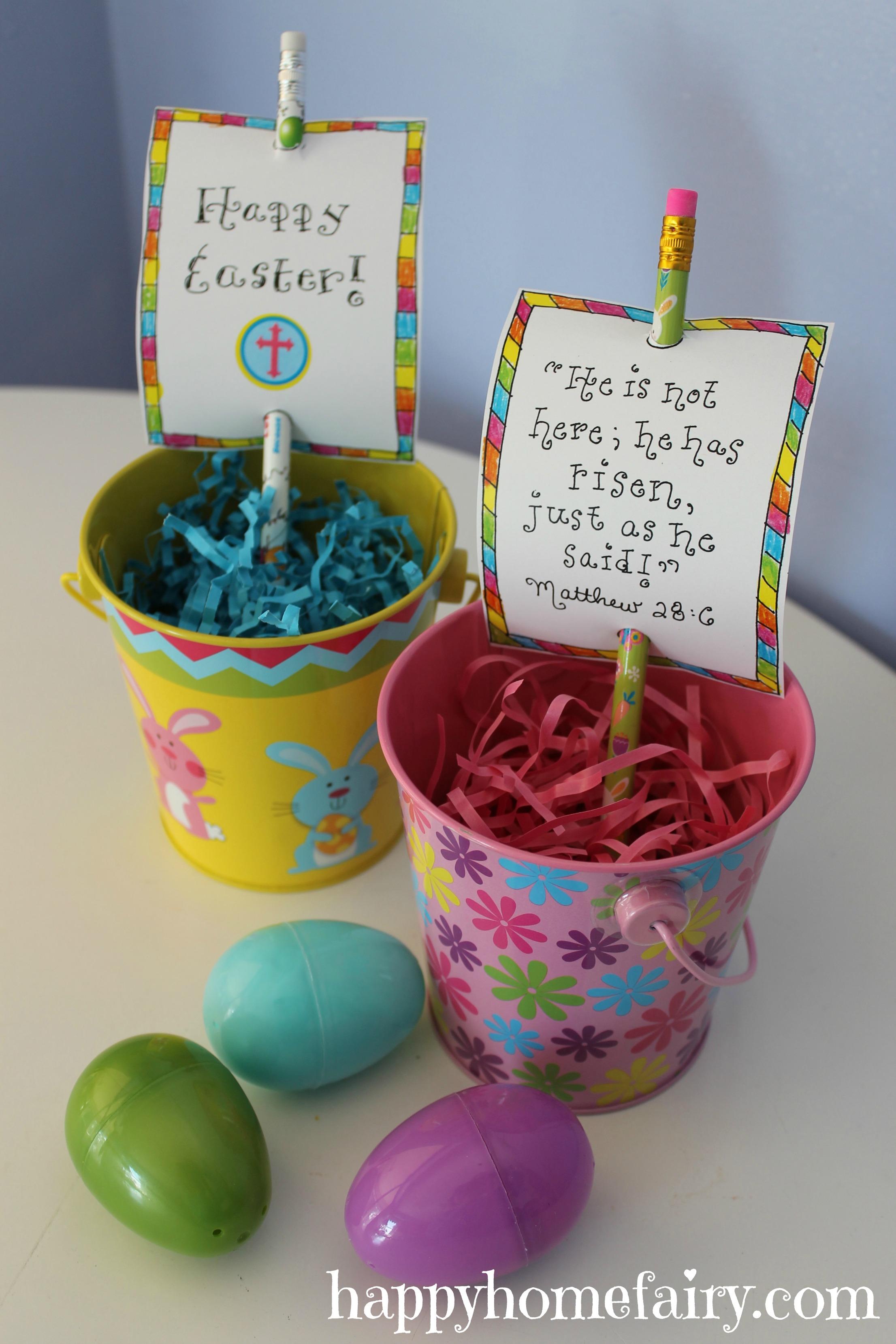 Inspirational Easter Pencil Printable