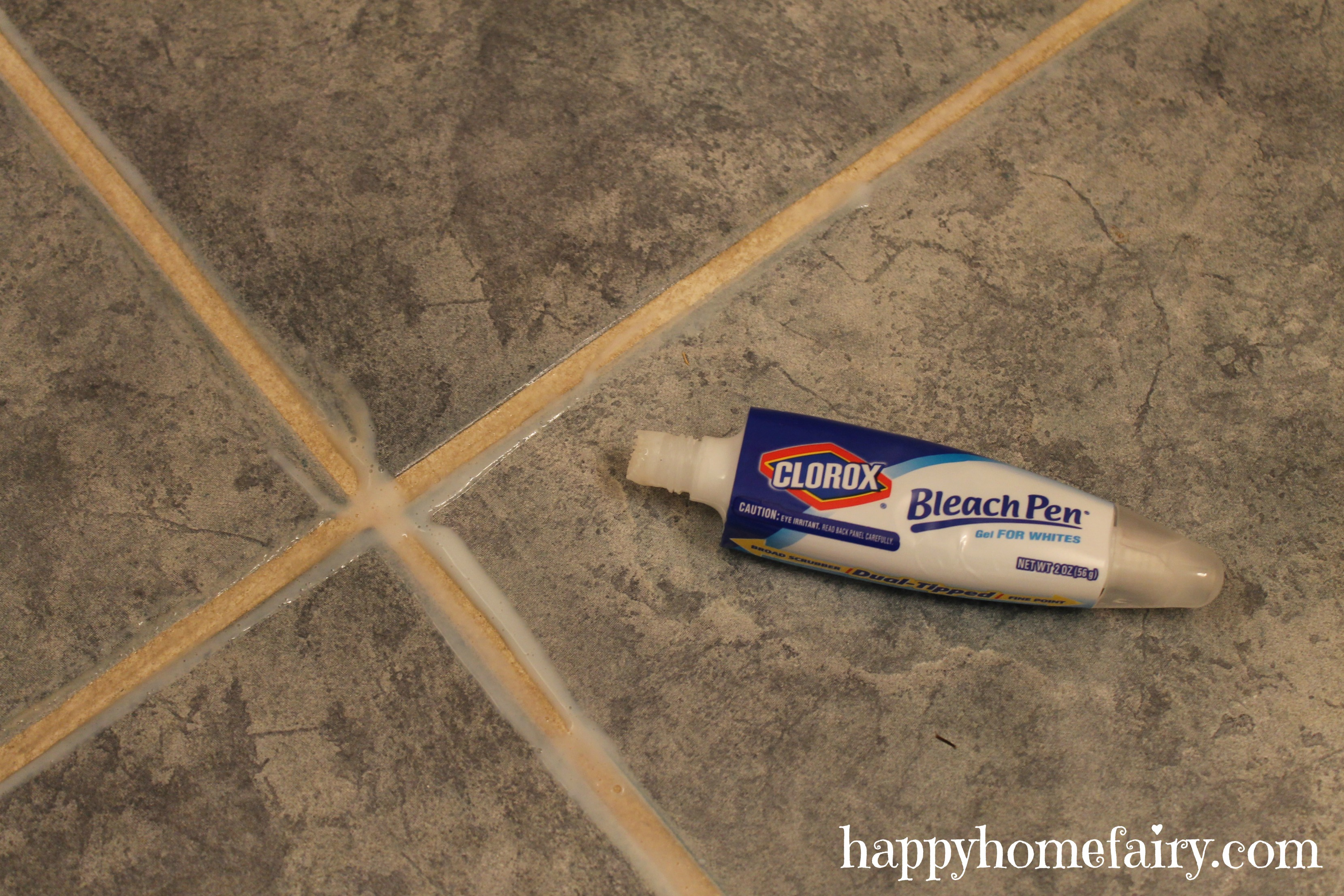 Cleaning grout secret tip happy home fairy for Grout cleaner