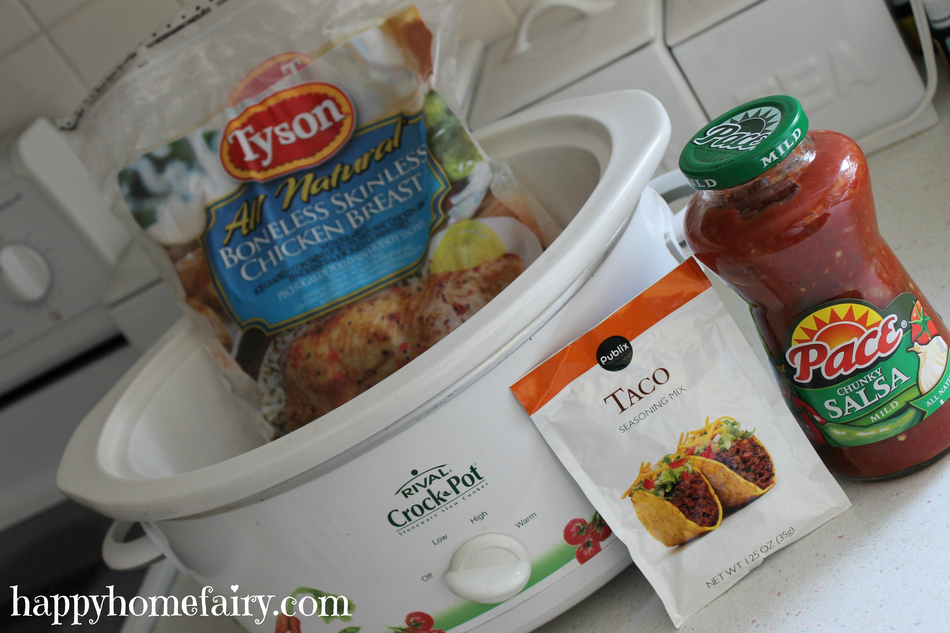 Nov 30, · Tip for Crockpot Chicken Tacos Salsa: You can use a taco seasoning packet for this recipe, but unless you get them for FREE with your coupons, you will save a lot more money by making your own taco seasoning.5/5(2).