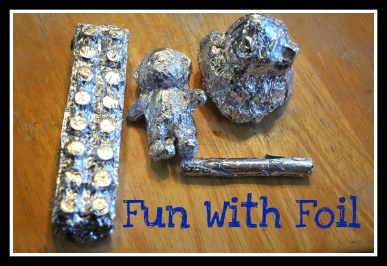10 creative ways to have fun with foil happy home fairy. Black Bedroom Furniture Sets. Home Design Ideas