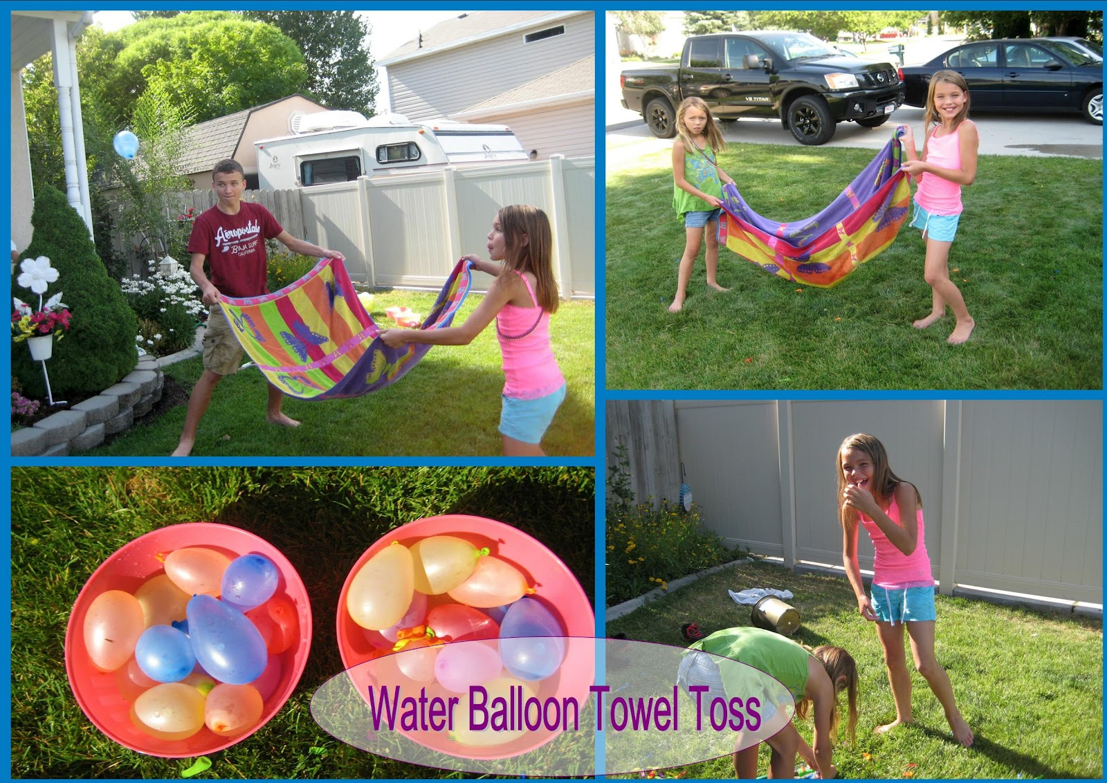 10 great ideas for water balloons happy home fairy for Good backyard games