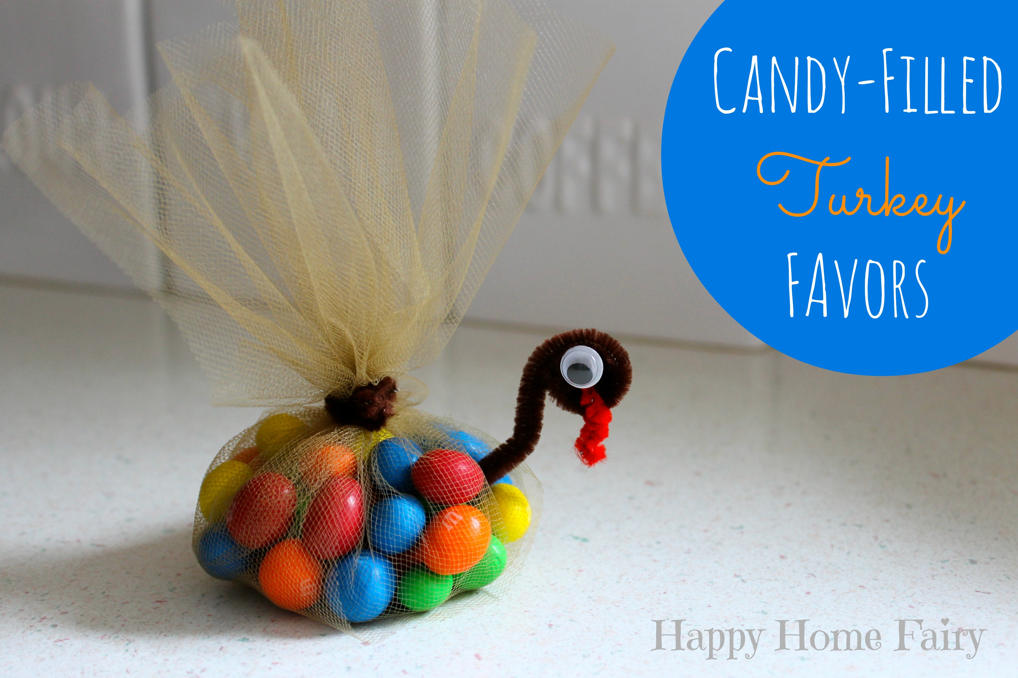 Easy Table Favor Crafts
