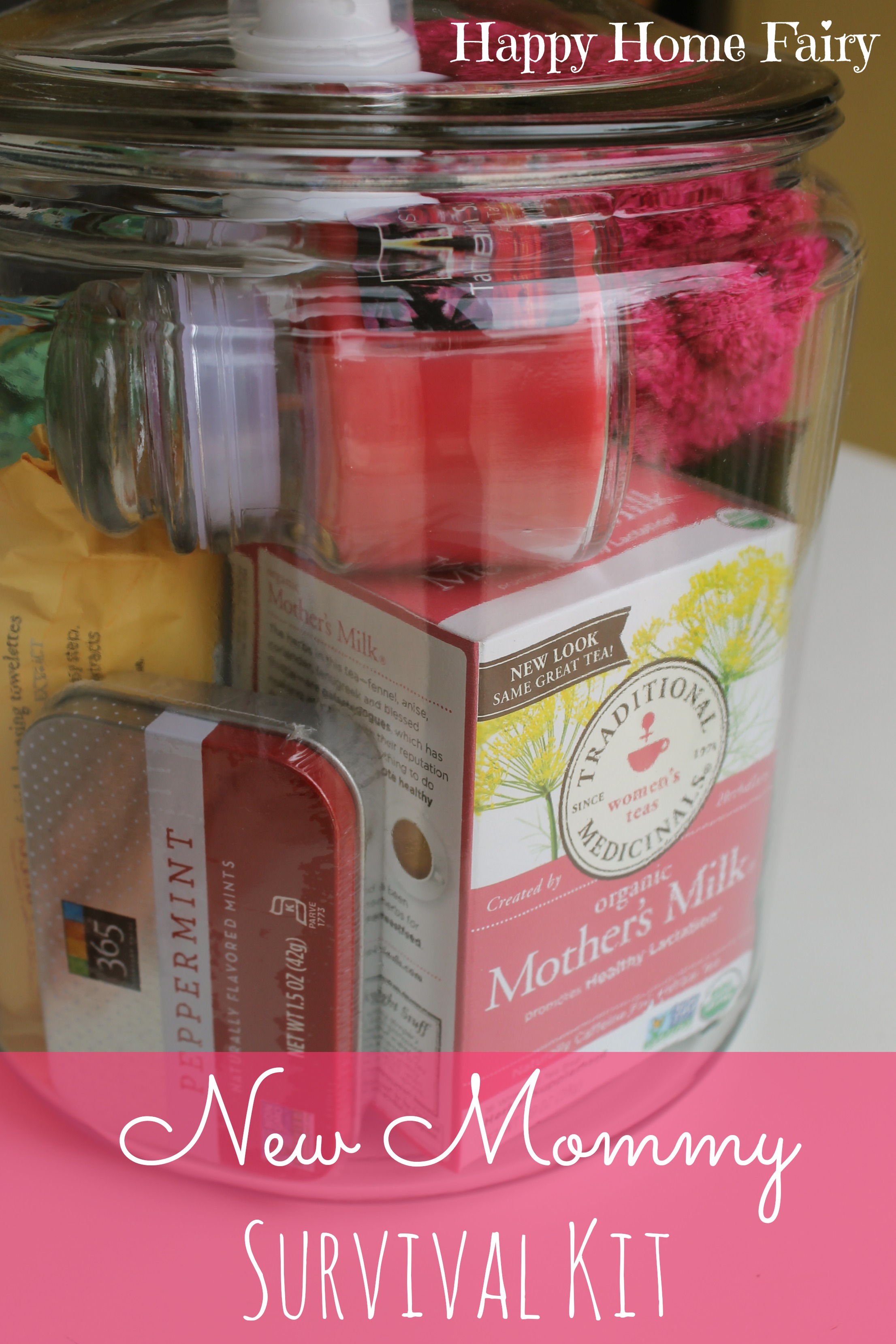 New Mommy Survival Kit Happy Home Fairy