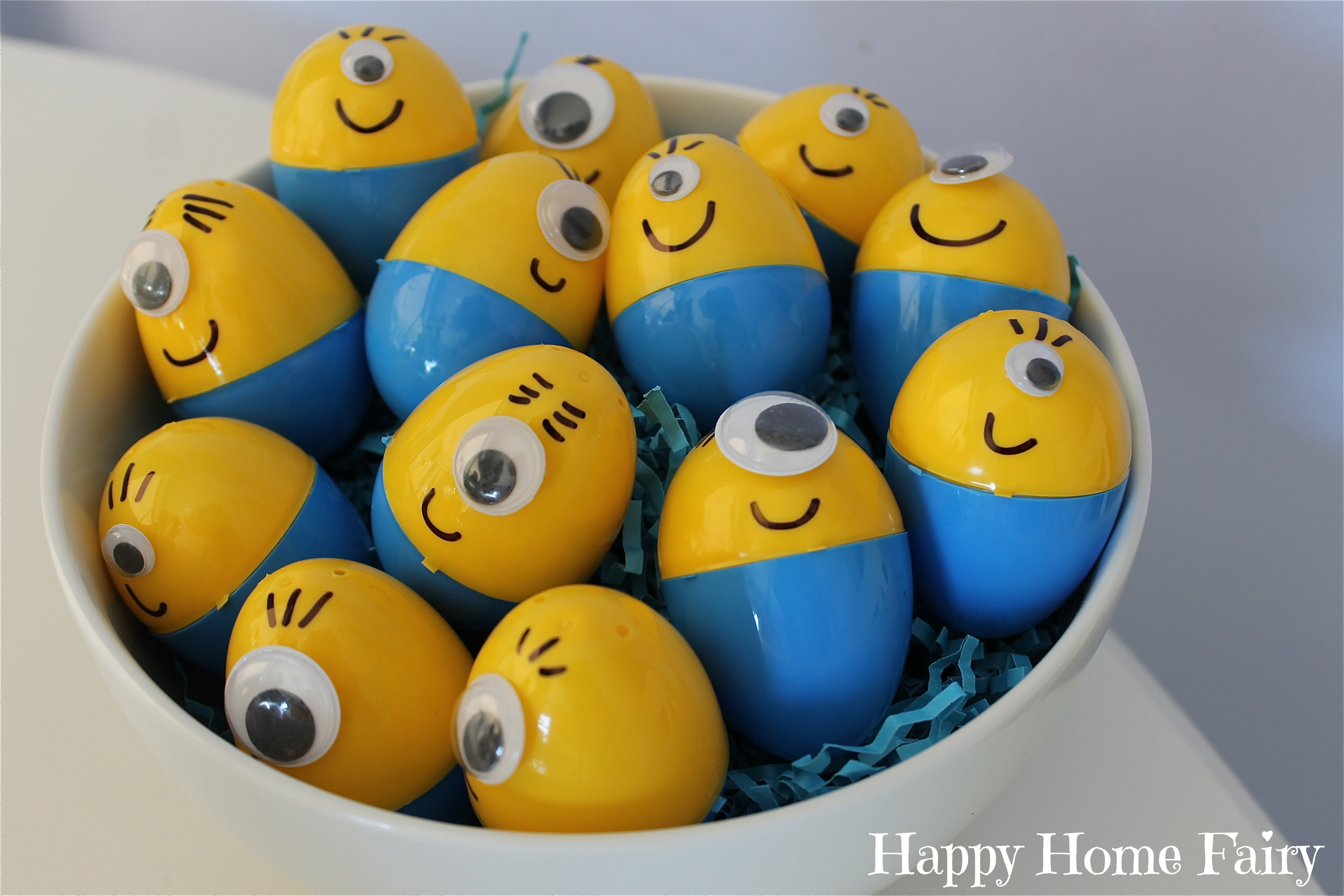 How To Make Minion Easter Eggs Happy Home Fairy