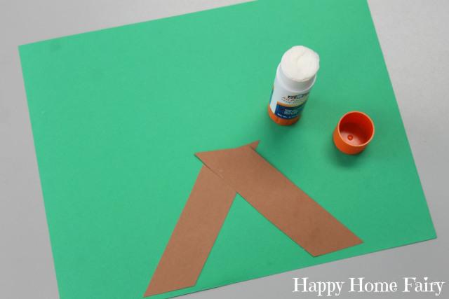 Simple paper baby jesus craft happy home fairy