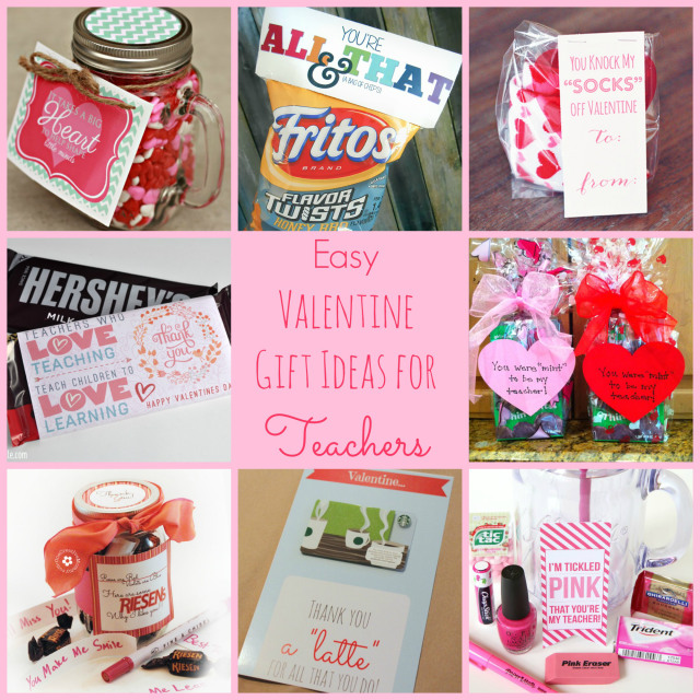 Easy Valentine Gift Ideas for the Teacher - Happy Home Fairy