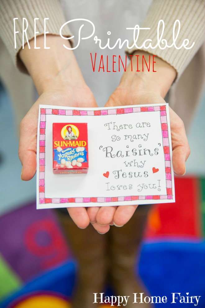 Free printables happy home fairy for Inspirational valentine crafts