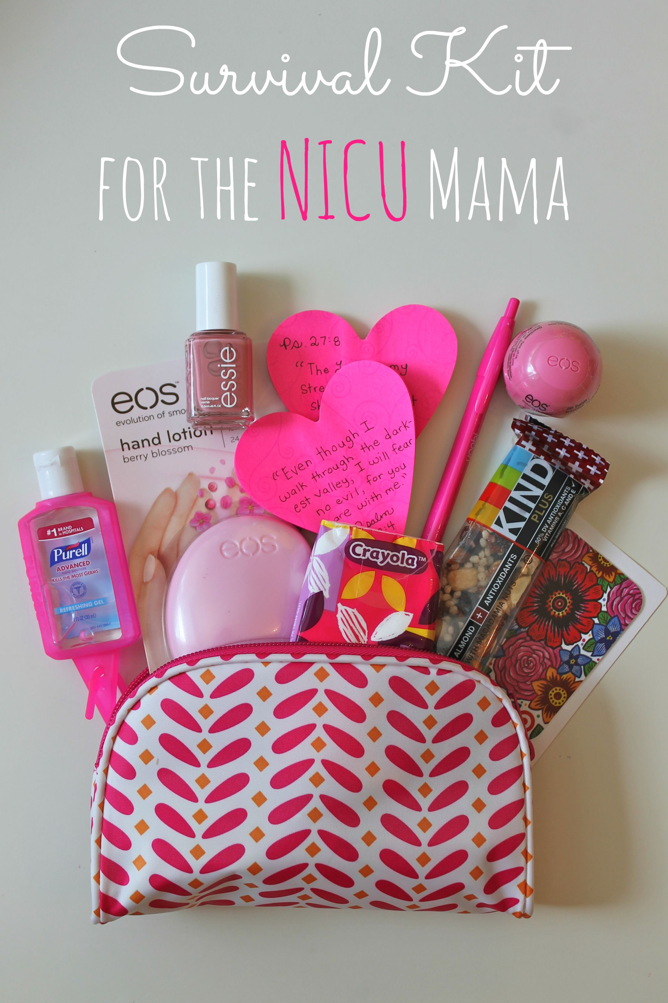 Baby Shower Decorations Not On The High Street ~ Survival kit for the nicu mama happy home fairy