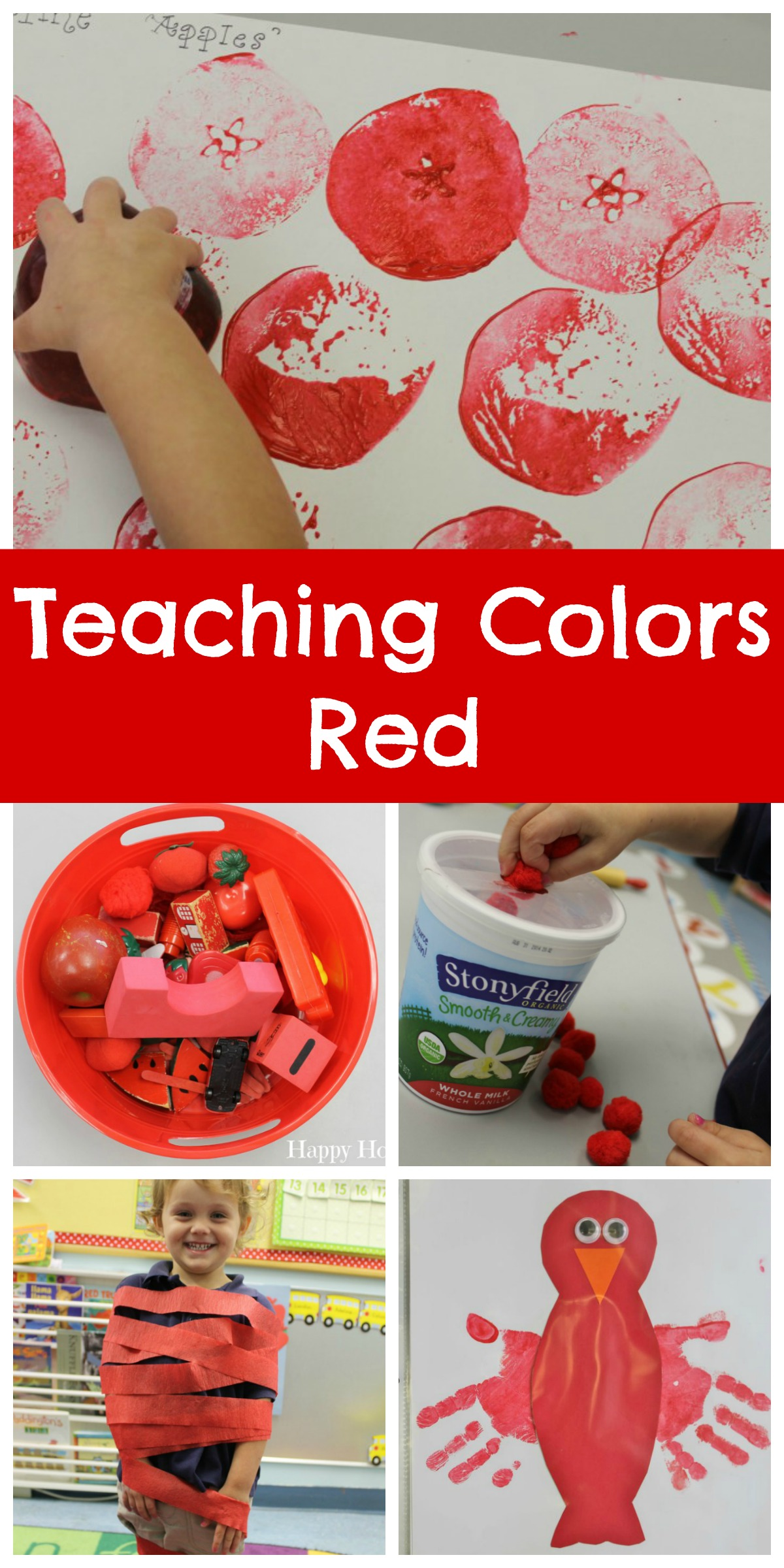 Teaching Colors Red Happy Home Fairy