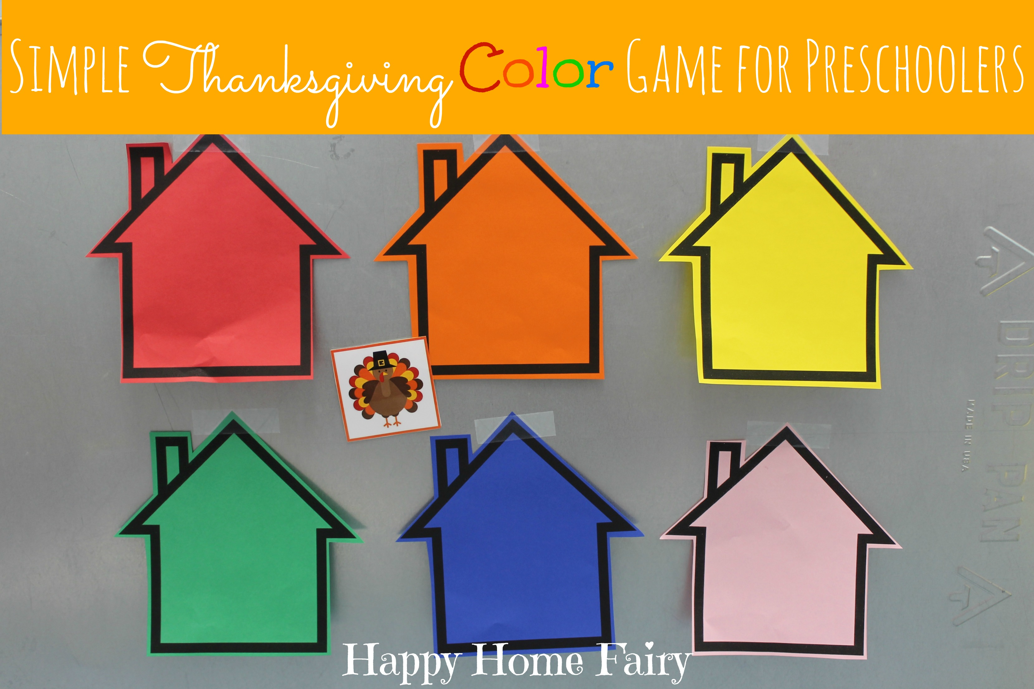 Thanksgiving coloring games online - Color Game For Preschool Simple Thanksgiving Color Game For Preschoolers