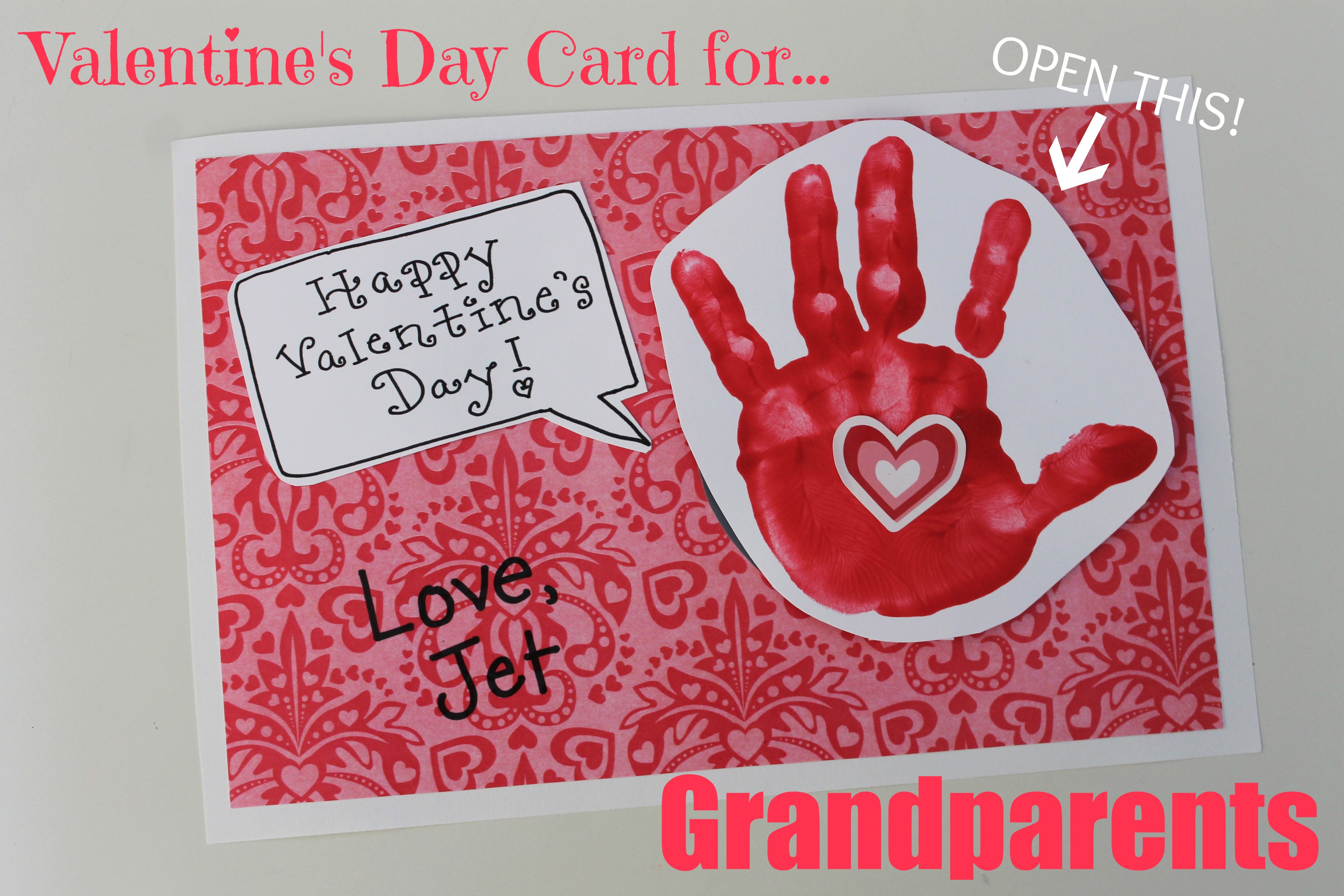 Valentines Day Card for Grandparents Happy Home Fairy – Images for Valentine Day Cards
