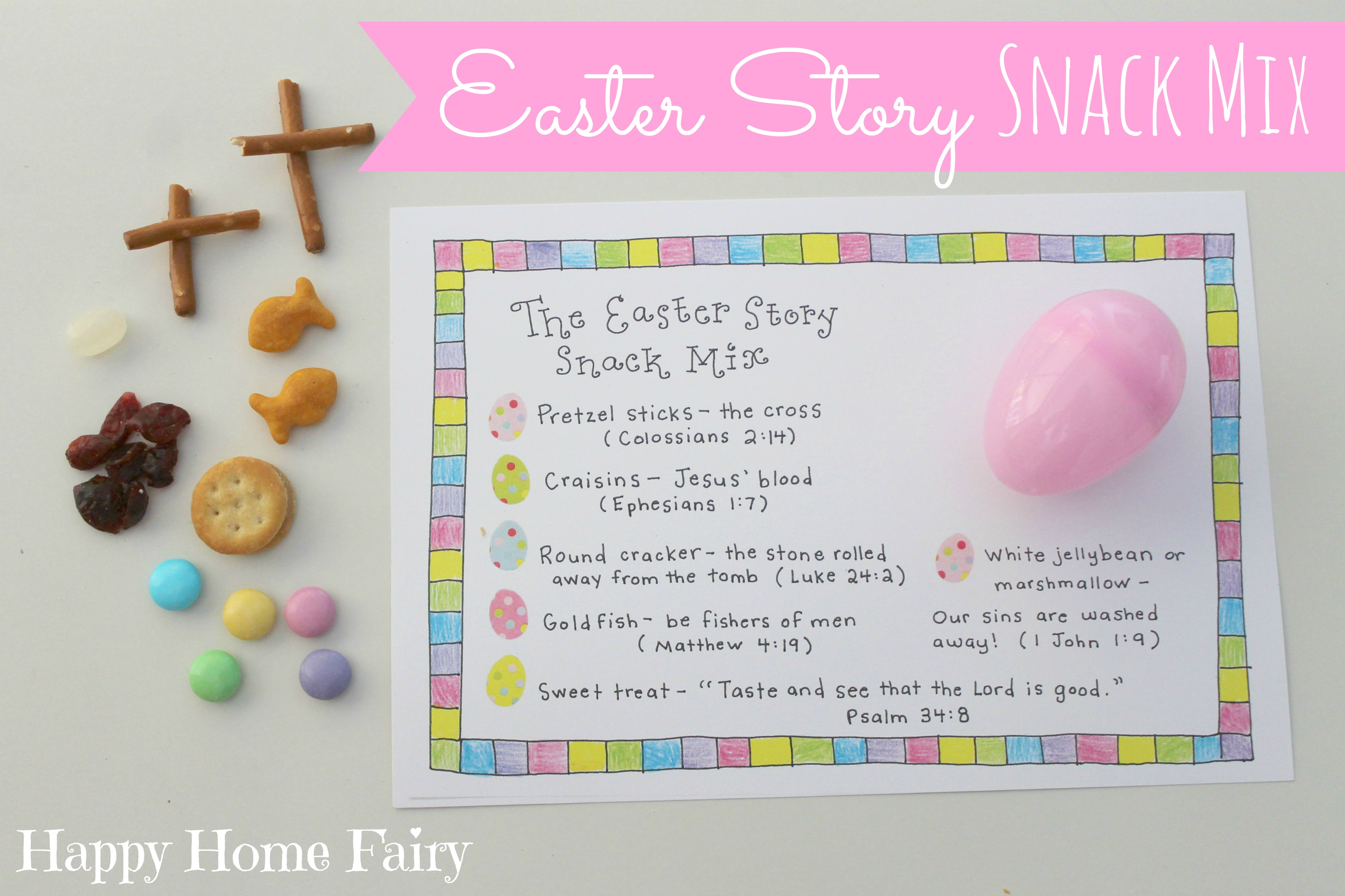 This is a picture of Nerdy Resurrection Egg Story Printable
