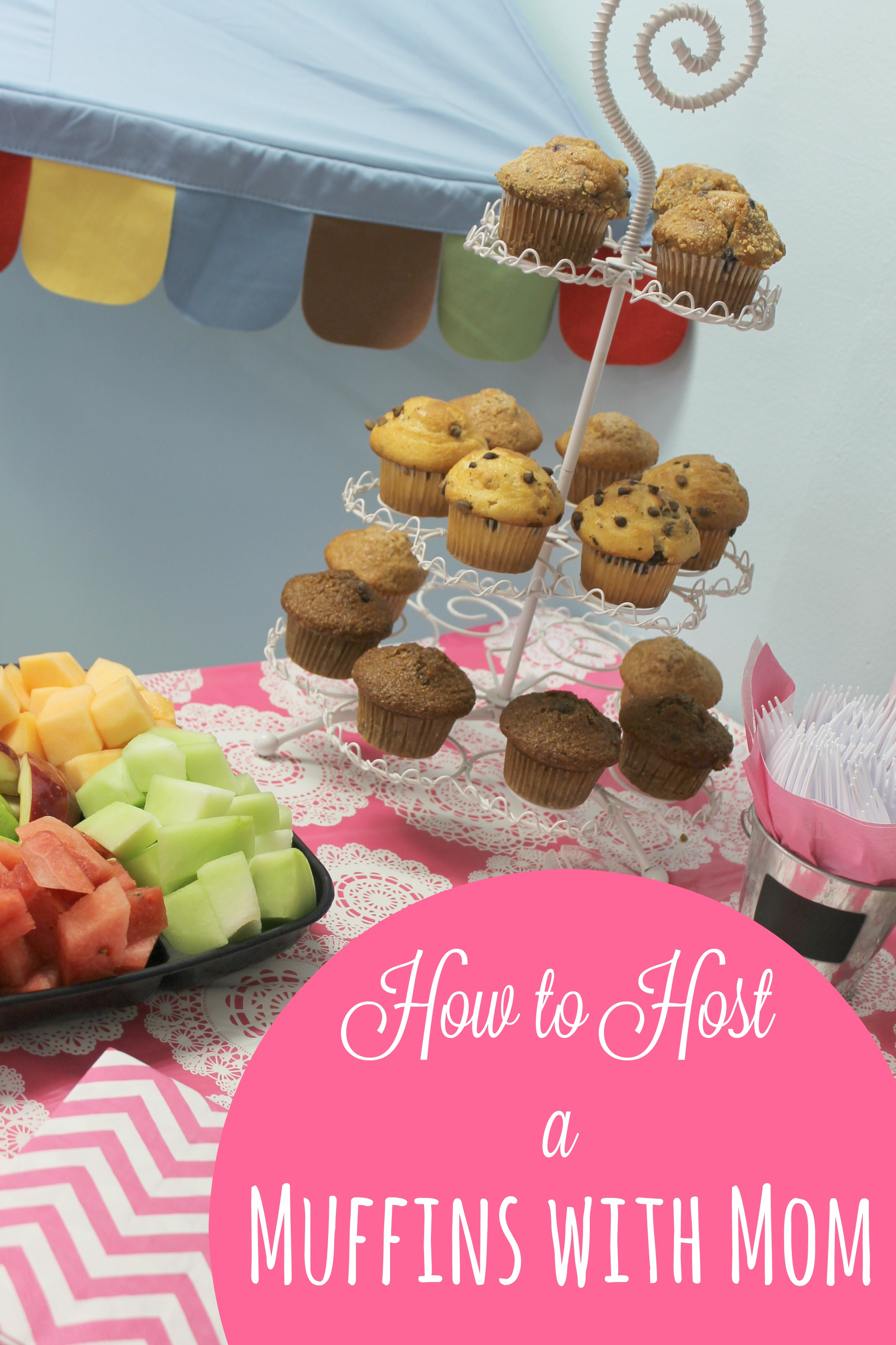 Classroom Breakfast Ideas ~ How to host a muffins with mom in your preschool classroom