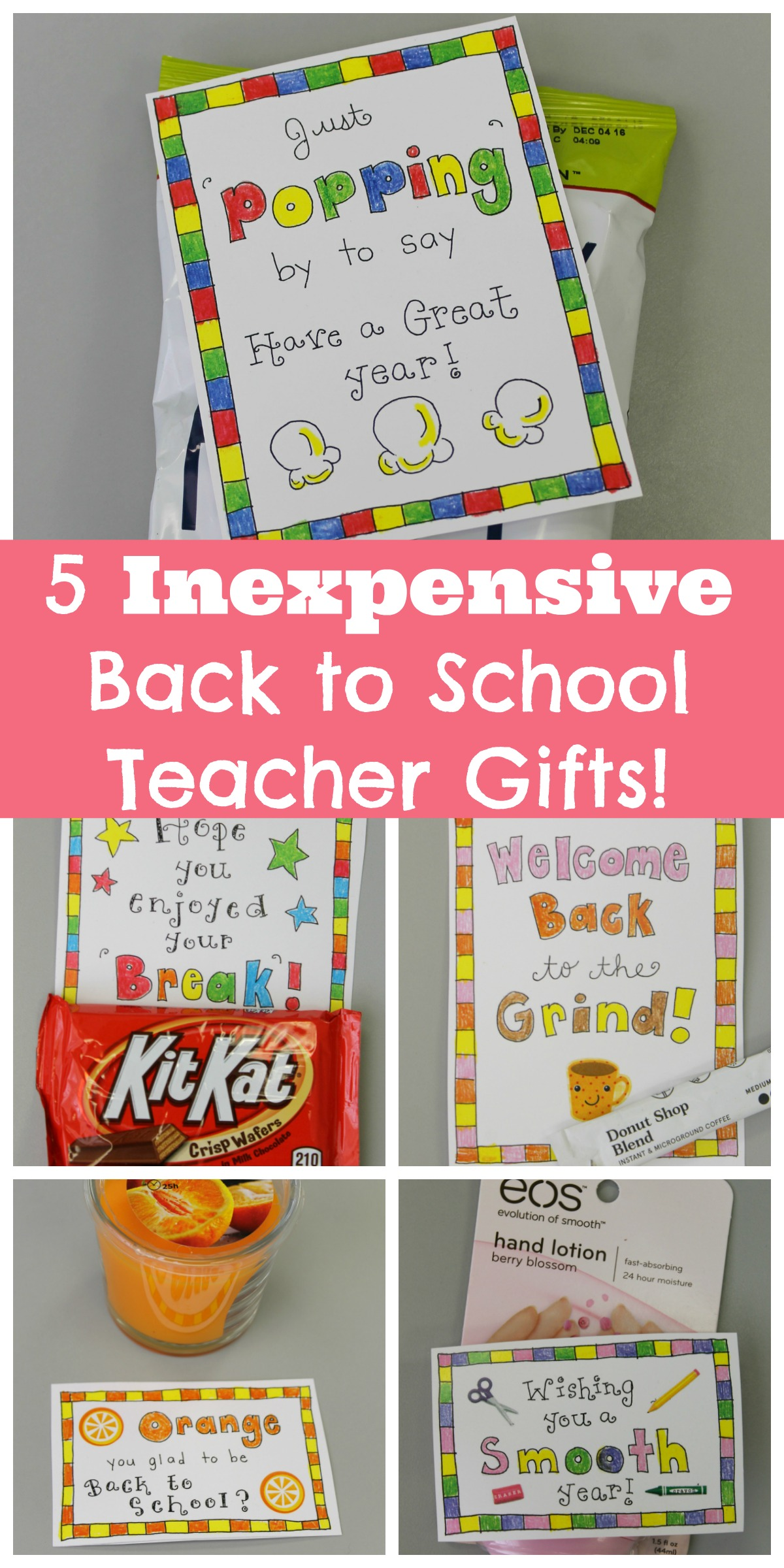 Classroom Ideas Back To School ~ Welcome back to school gift ideas for teachers