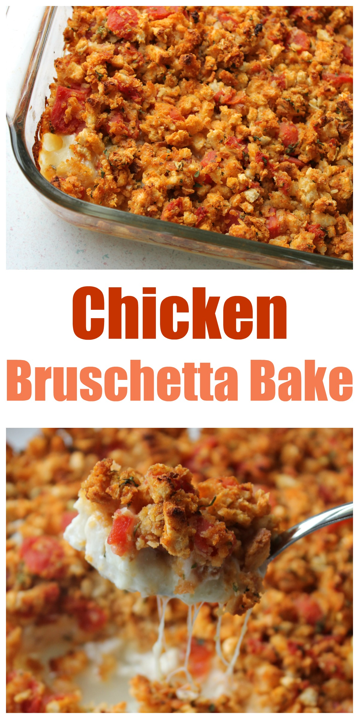 Recipe - Chicken Bruschetta Bake (the BEST meal to take to someone ...