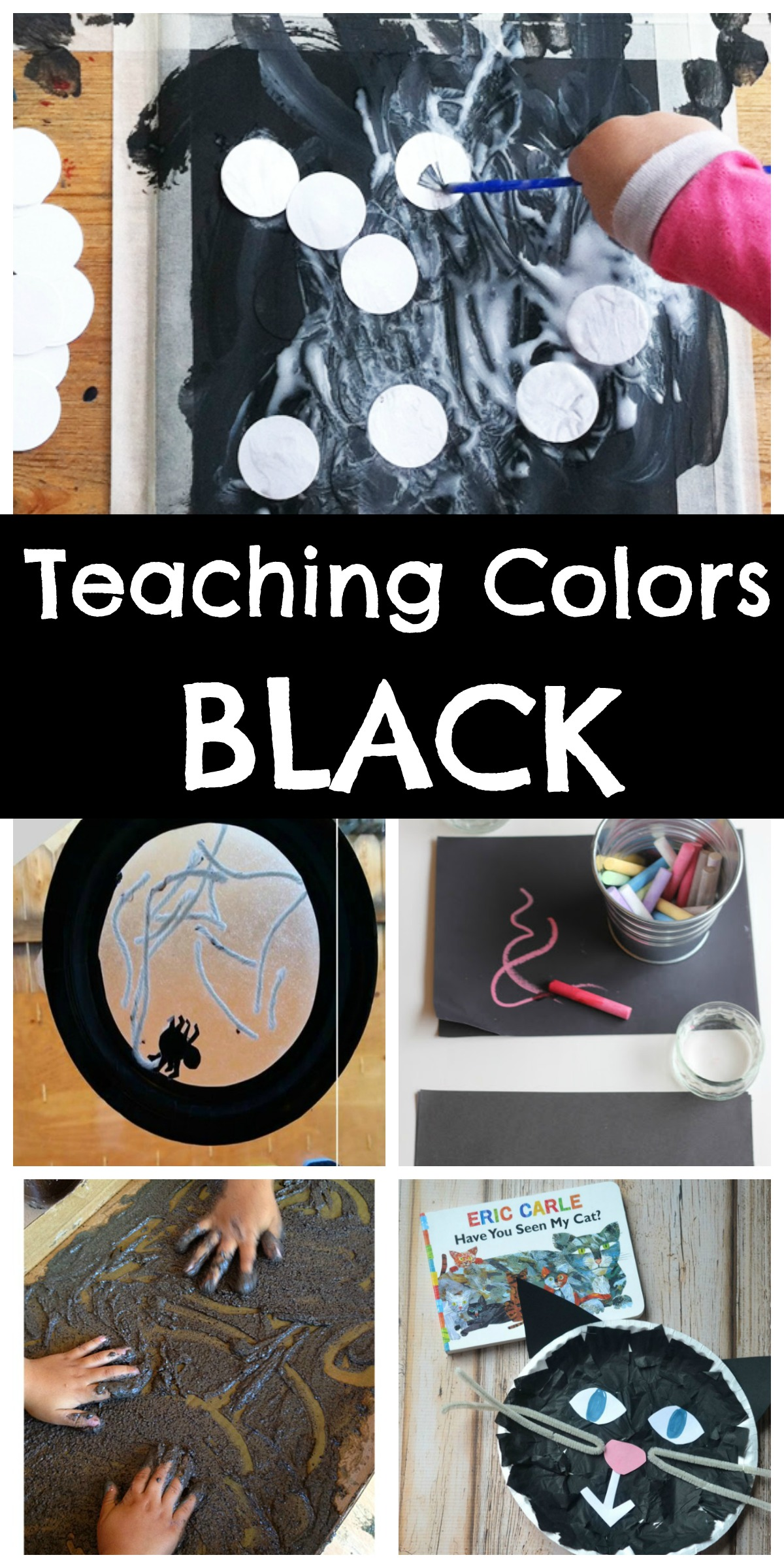 teaching colors black happy home fairy. Black Bedroom Furniture Sets. Home Design Ideas