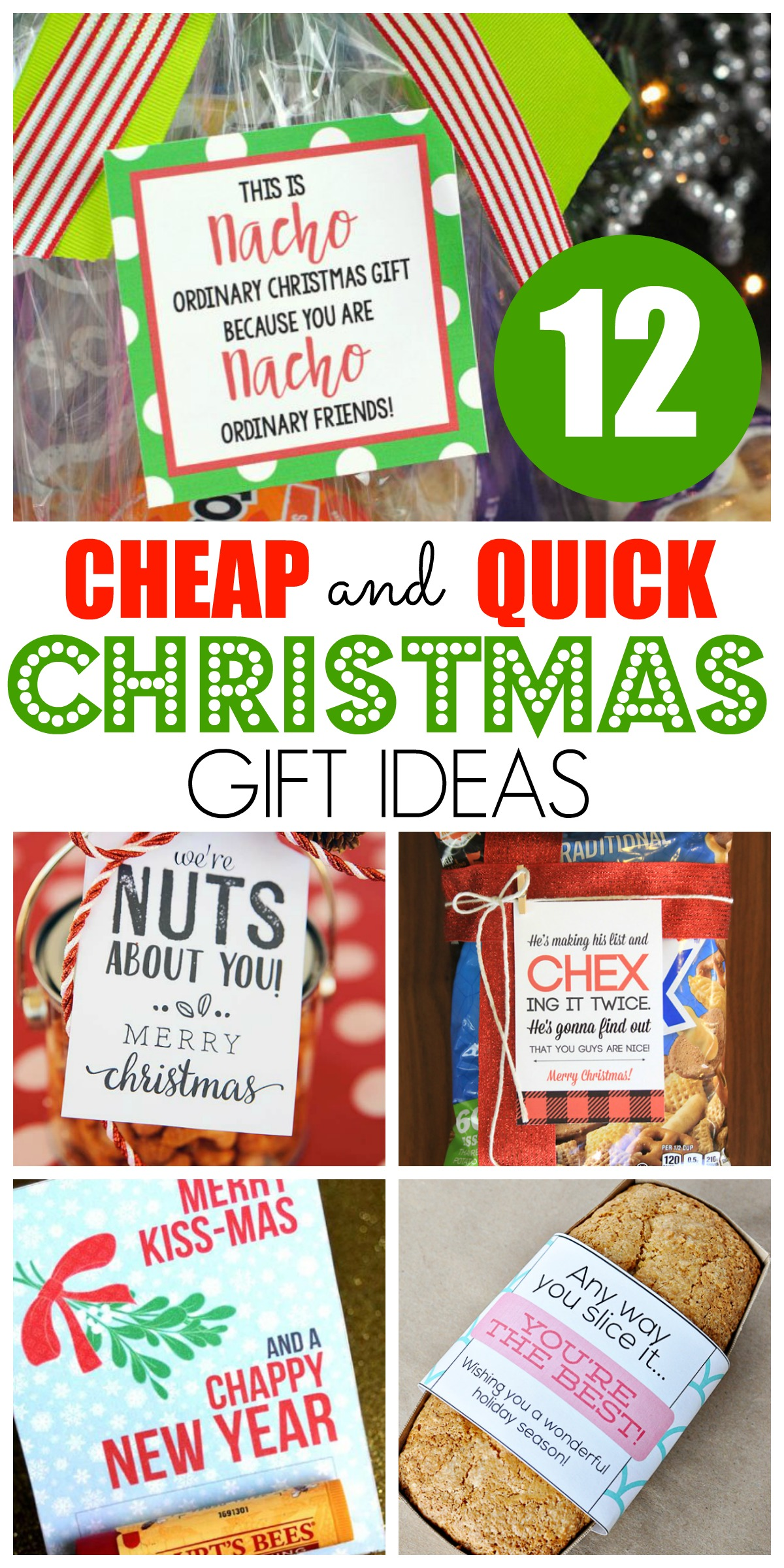 12 cheap and quick christmas gift ideas happy home fairy for Quick easy gifts to make for christmas