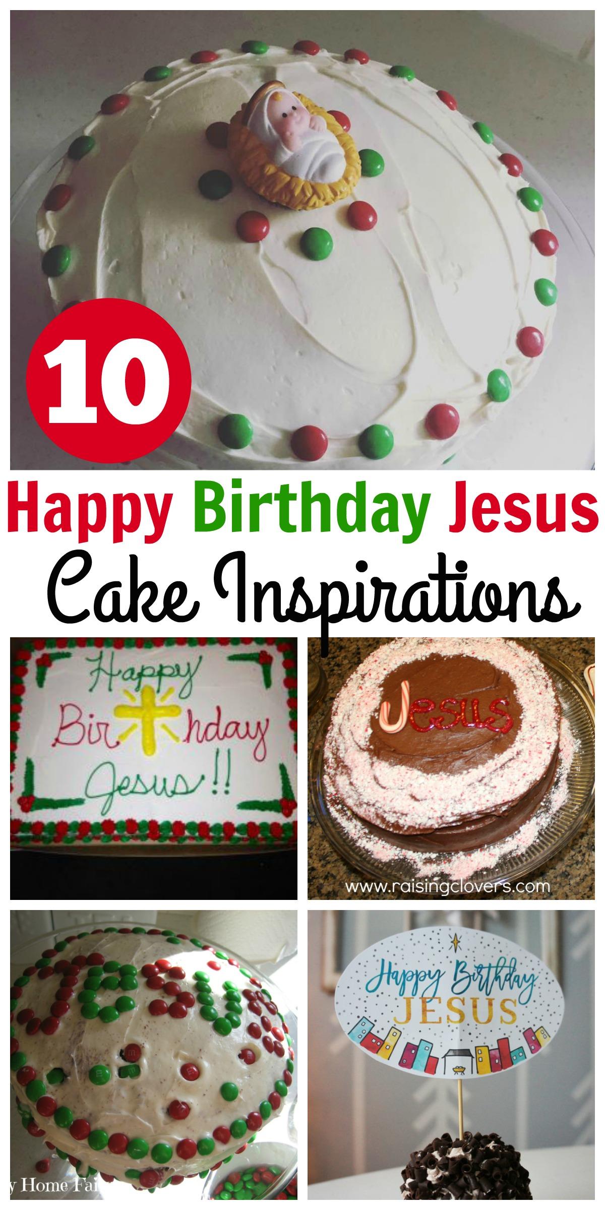 Happy Birthday Jesus Cake Ideas - Happy Home Fairy