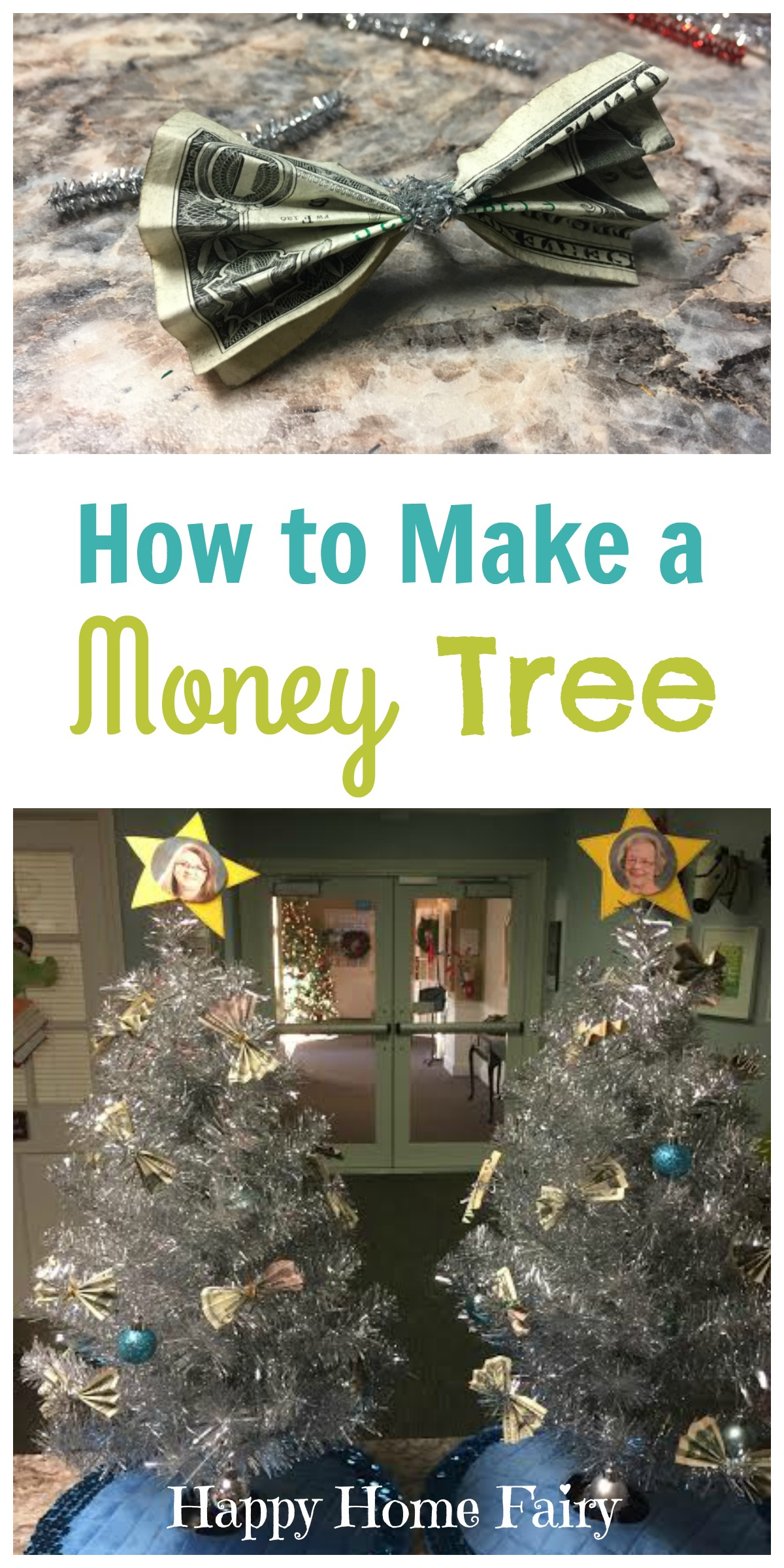 How to make a money tree happy home fairy for Money to build a house
