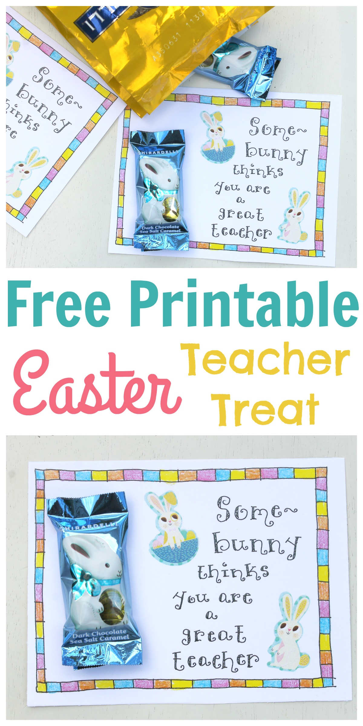 It is a photo of Accomplished Printable Easter Tag