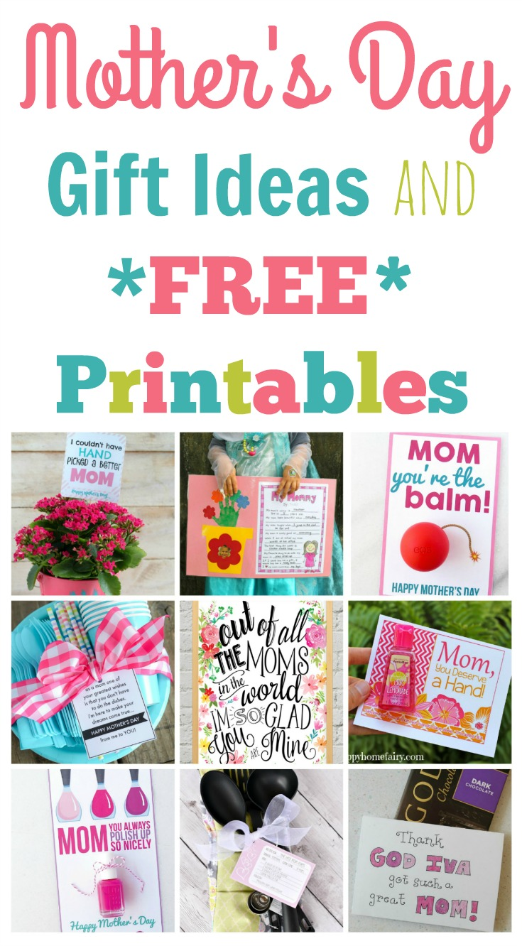 Quick And Easy Mother 39 S Day Gift Ideas And Printables