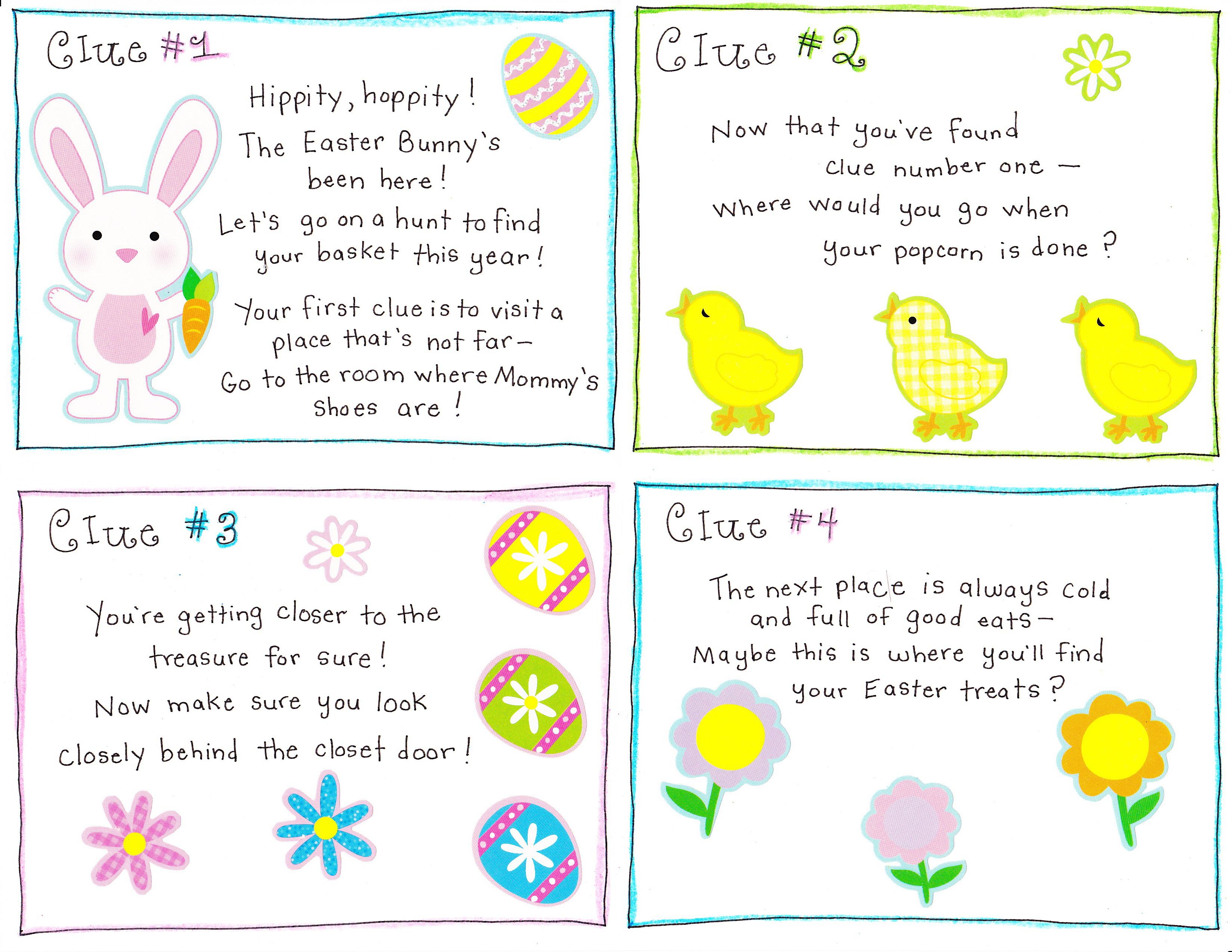 Easter Egg Hunt Template Underfontanacountryinncom