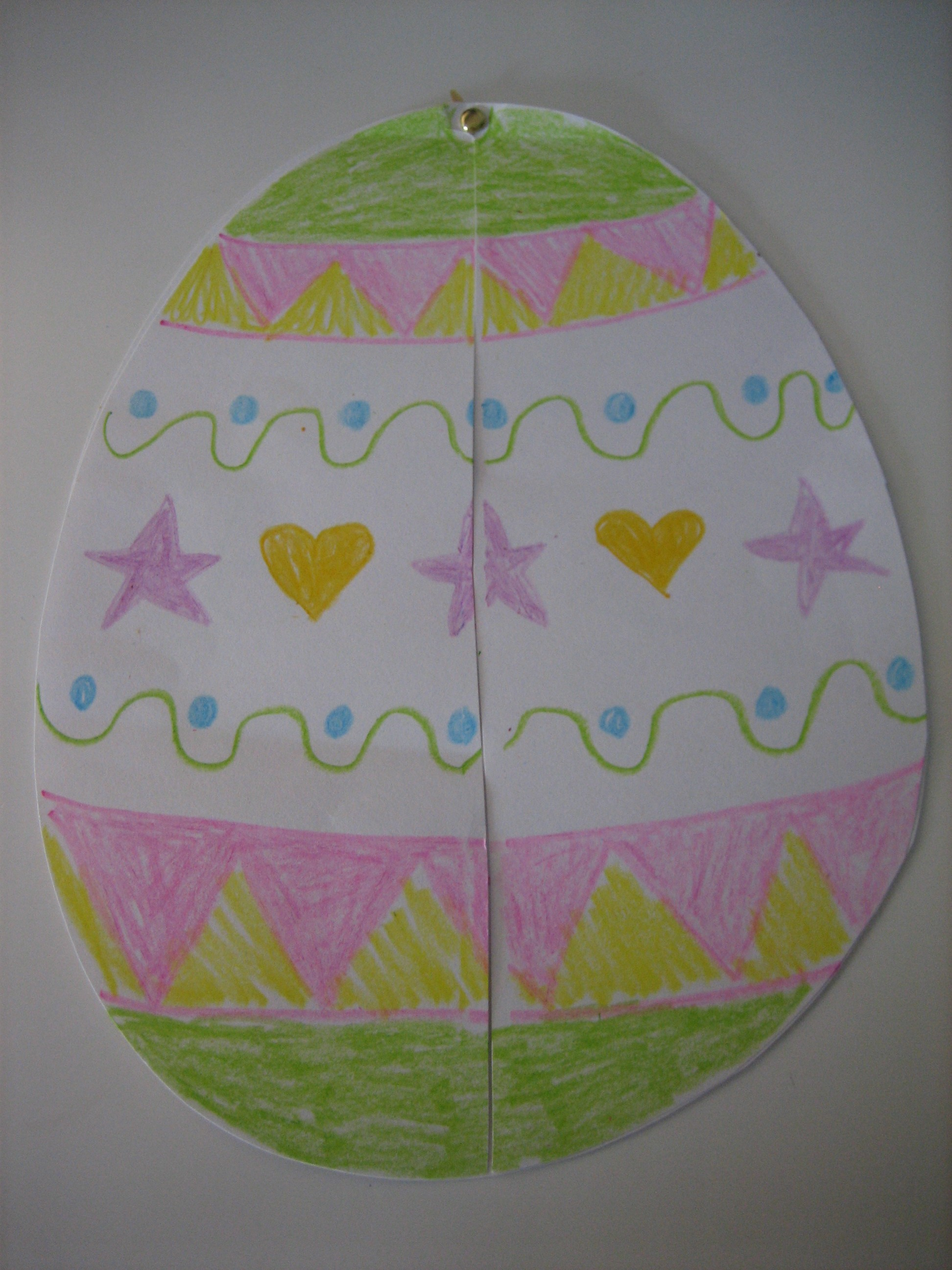 easter craft ideas preschoolers 2 easy easter paper crafts happy home 4310