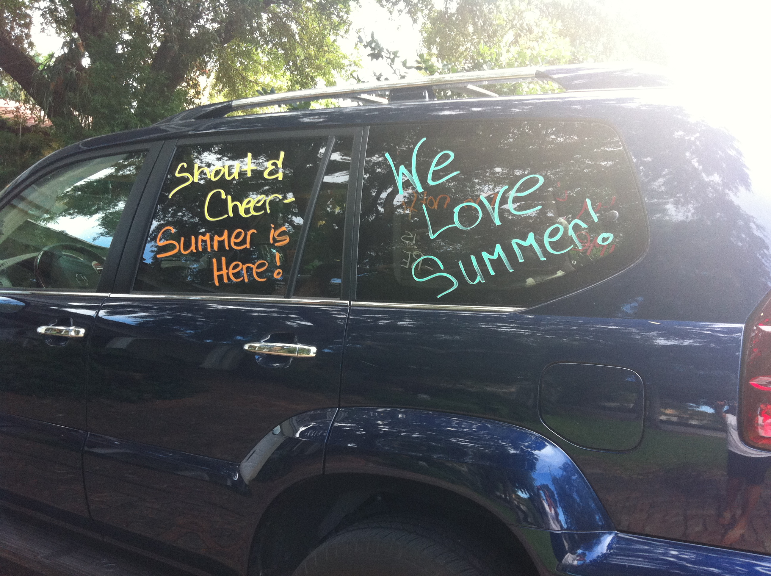 Last Day Of School Car Decorating Happy Home Fairy
