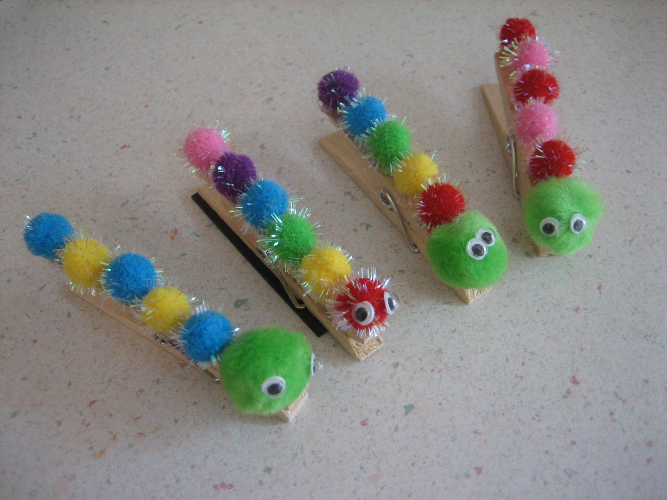 Make A Caterpillar Craft