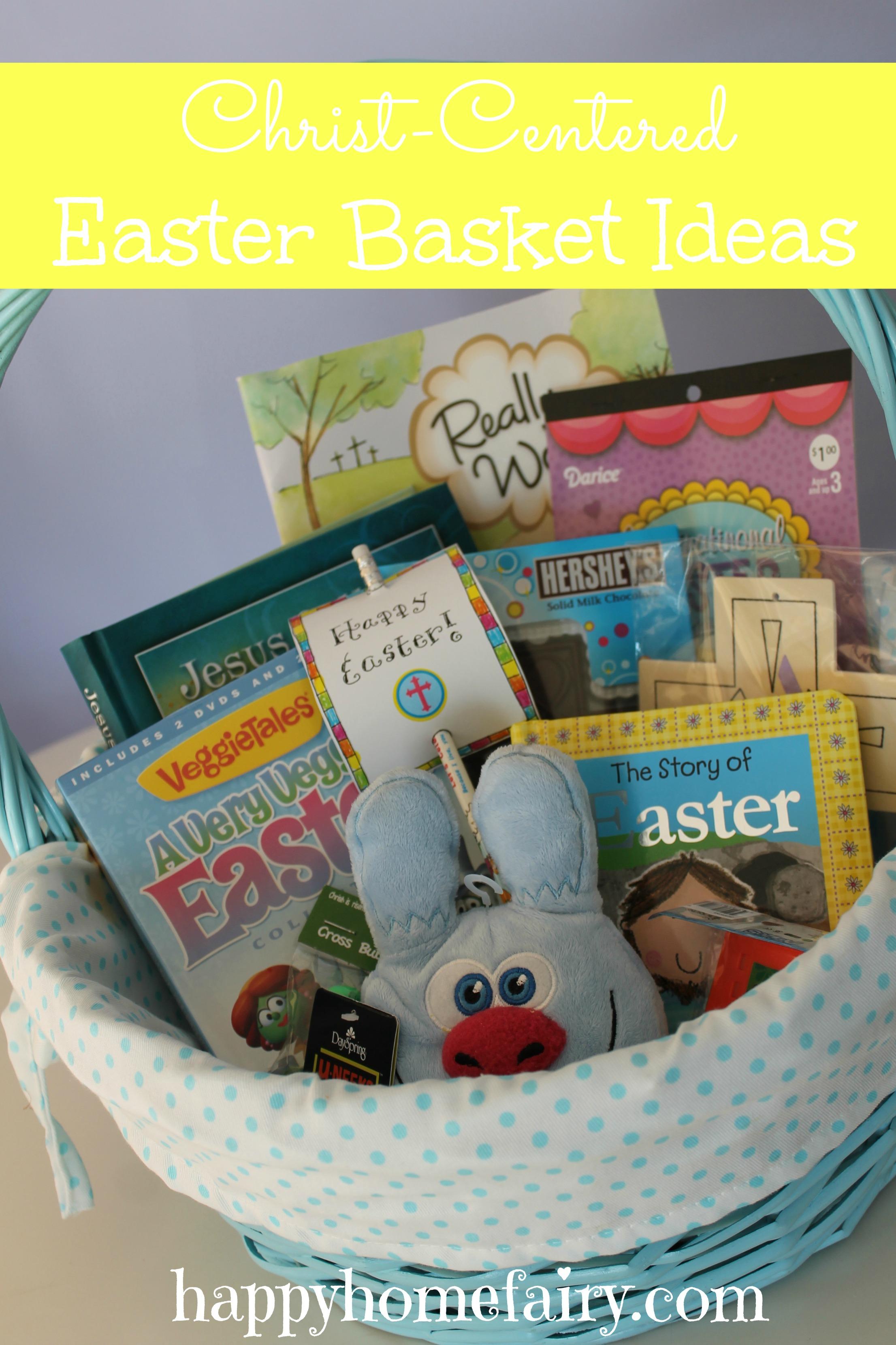 Christ centered easter basket ideas happy home fairy negle Gallery