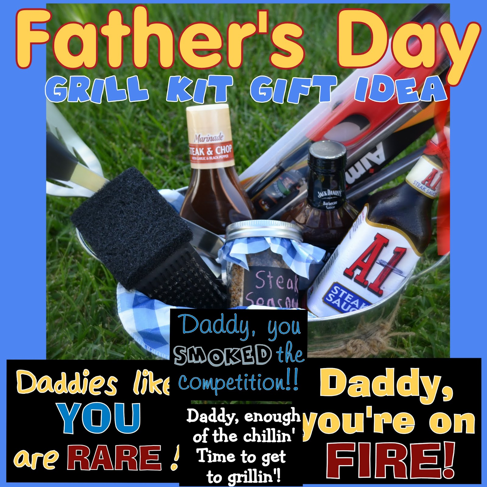 Fathers day ideas for the grill master happy home fairy negle Choice Image