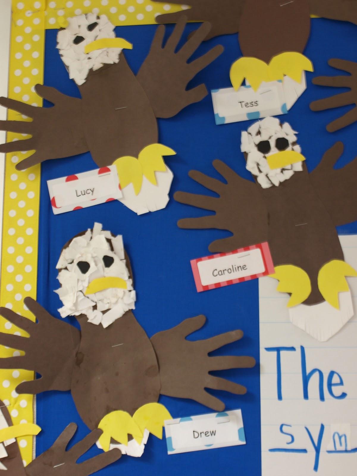 American Symbols Crafts Kindergarten