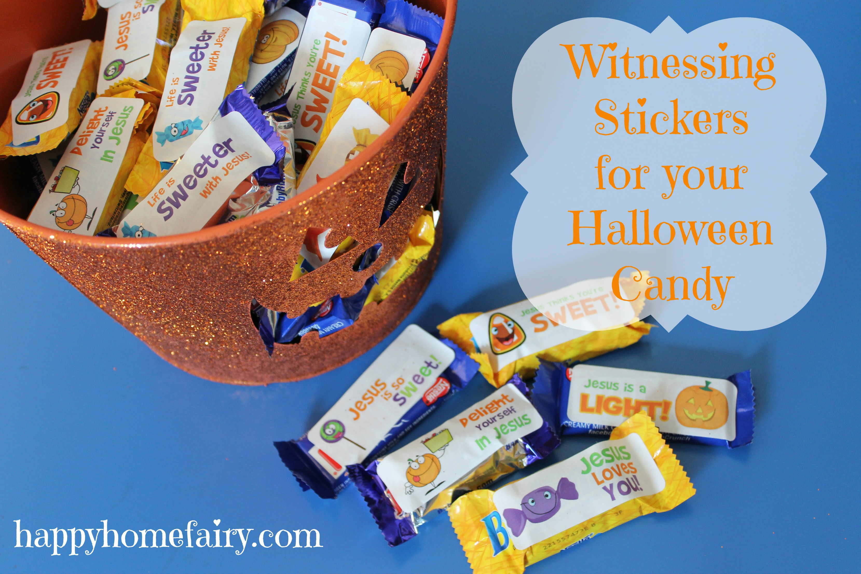 Halloween Candy That S Good For You Free Printable