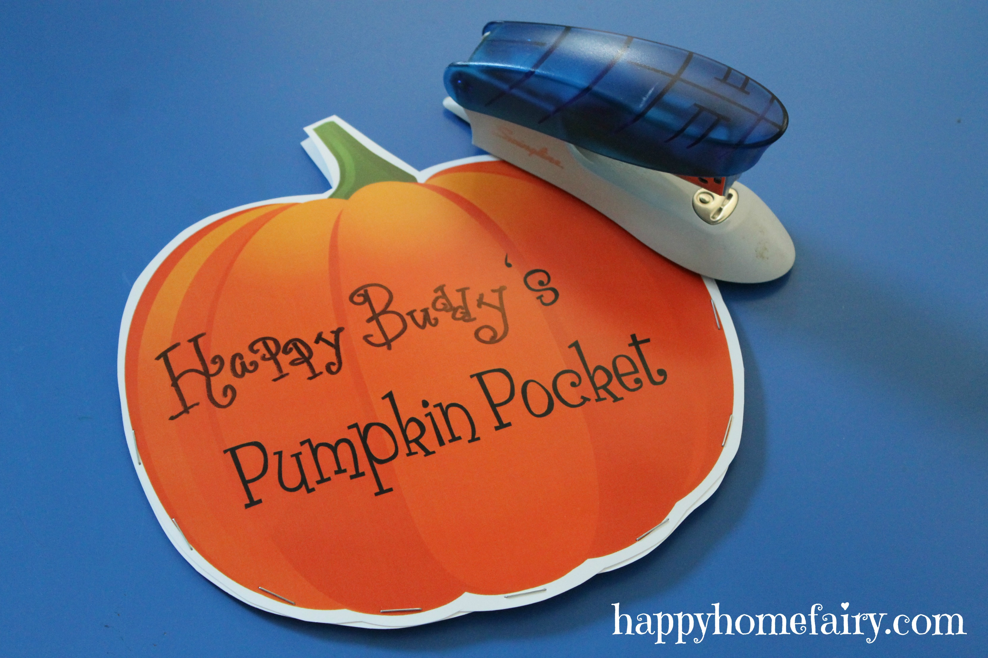 Pumpkin Pockets - FREE Printable! - Happy Home Fairy