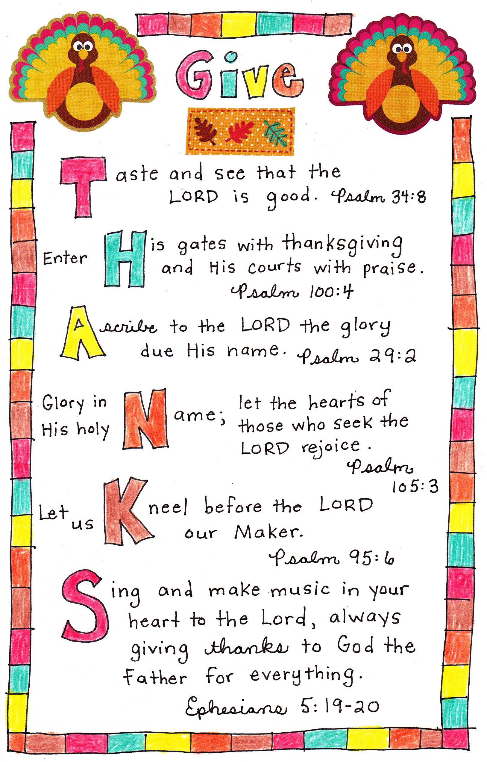 Bible Lesson Crafts For Toddlers About Fall